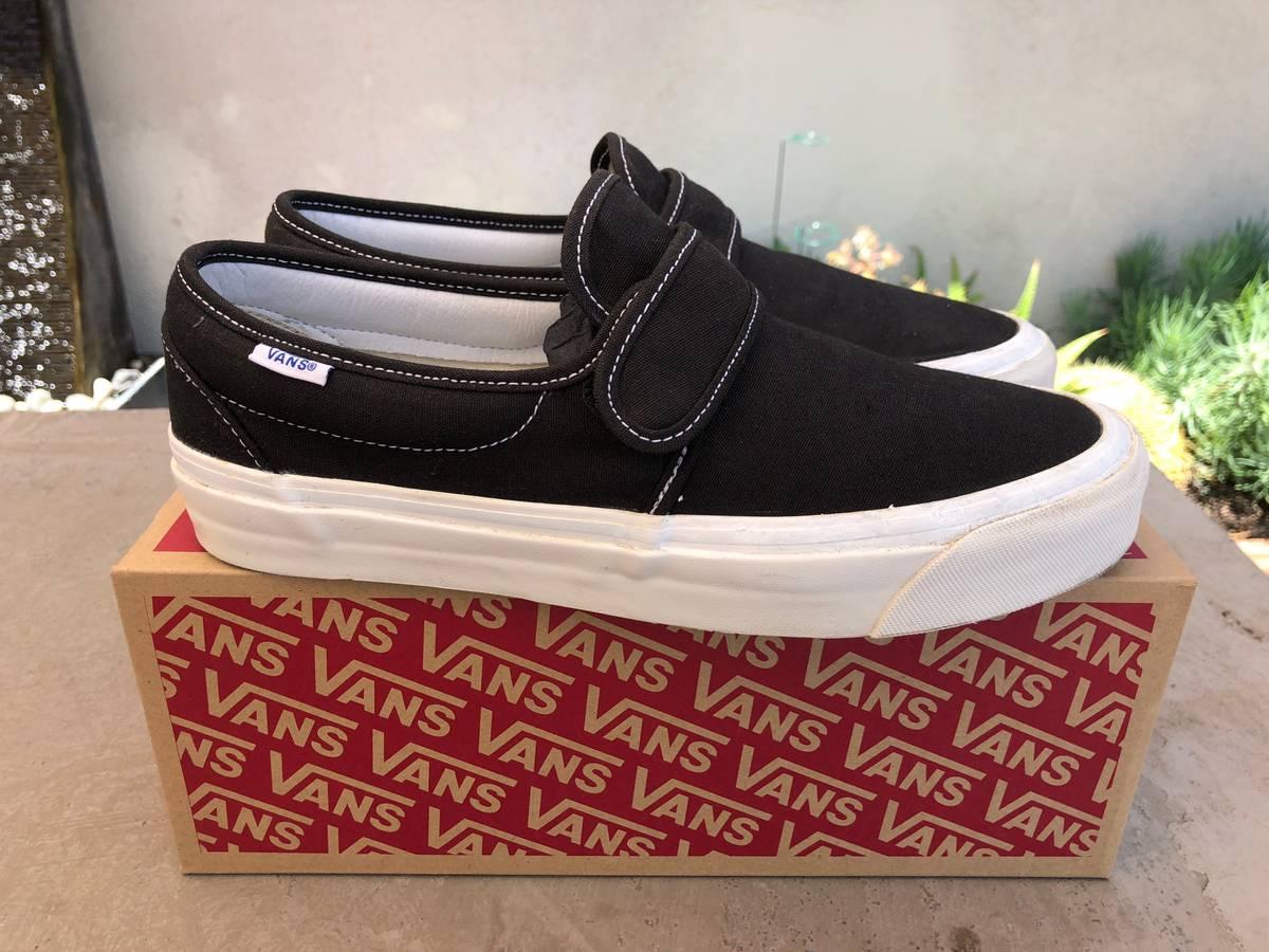 de17768bfb8e9 Vans  LAST DROP  ANAHEIM FACTORY SLIP-ON 47 V DX Size 9 - Low-Top Sneakers  for Sale - Grailed