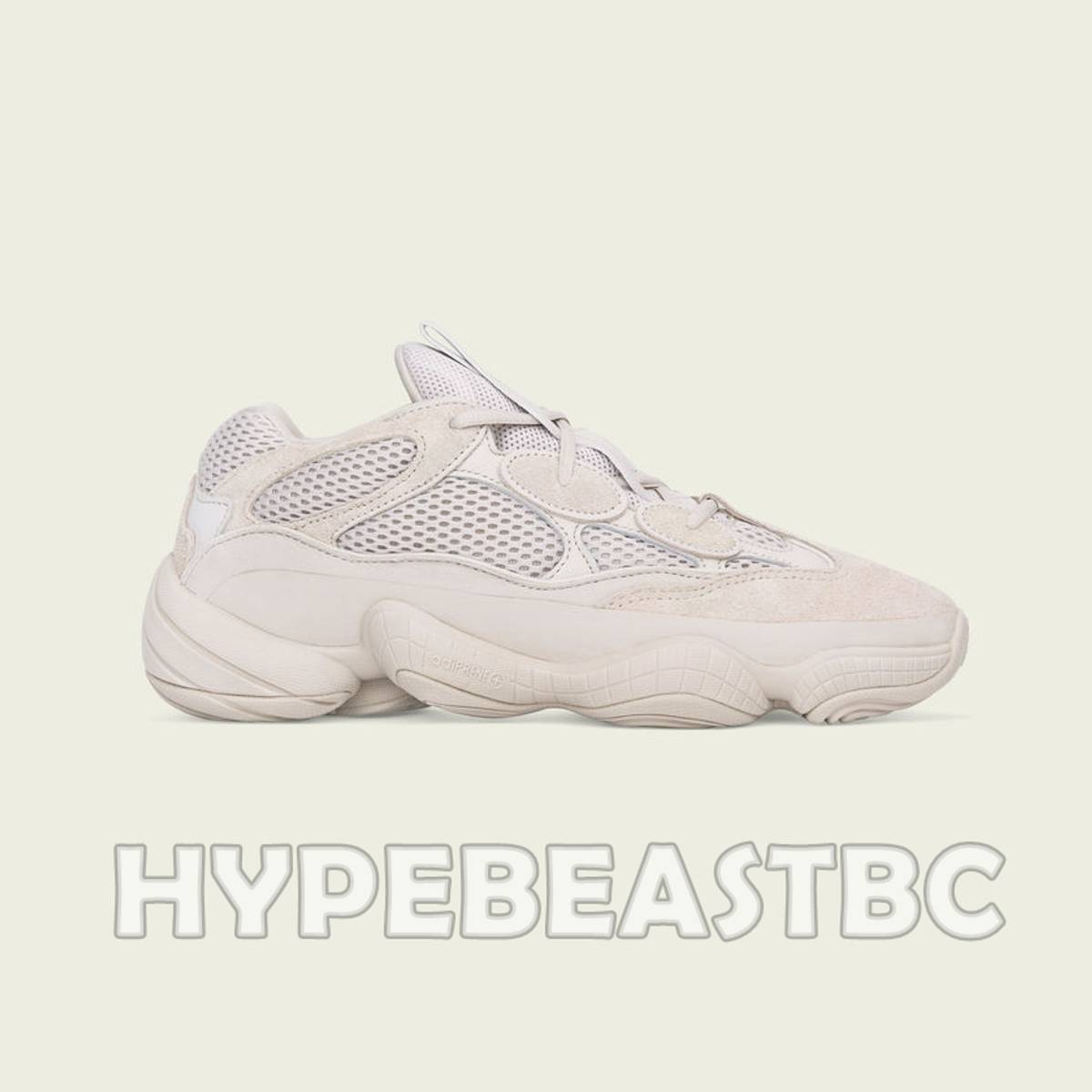 official photos e1f5c 79d9c Adidas Yeezy 500 Blush X Adidas Desert Rat Sneakers Shoes, Beige Size 10  $261