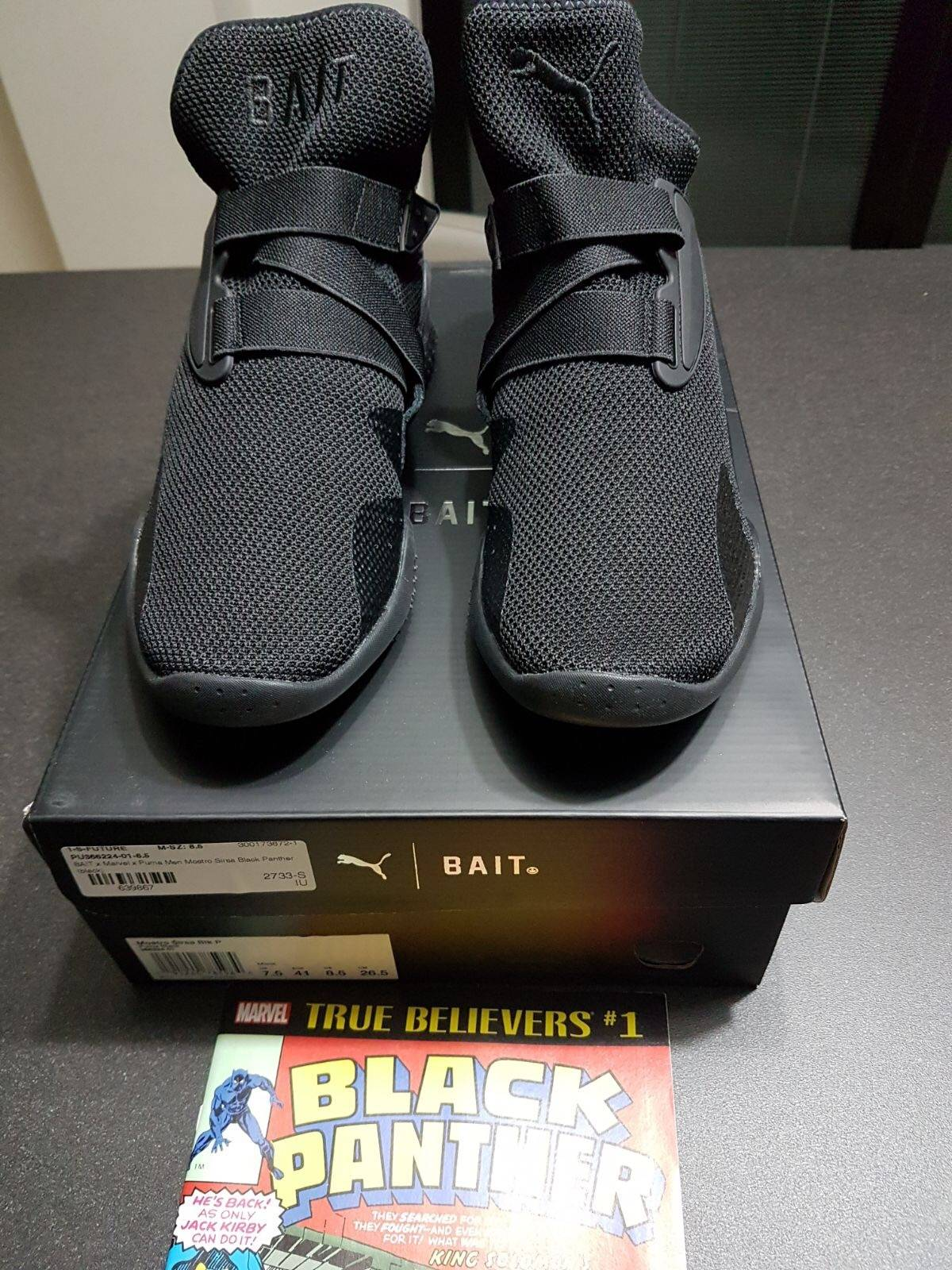 4b1f4330129 Puma Black Panther x BAIT x Puma Mostro Mid Size 9 - Low-Top Sneakers for  Sale - Grailed