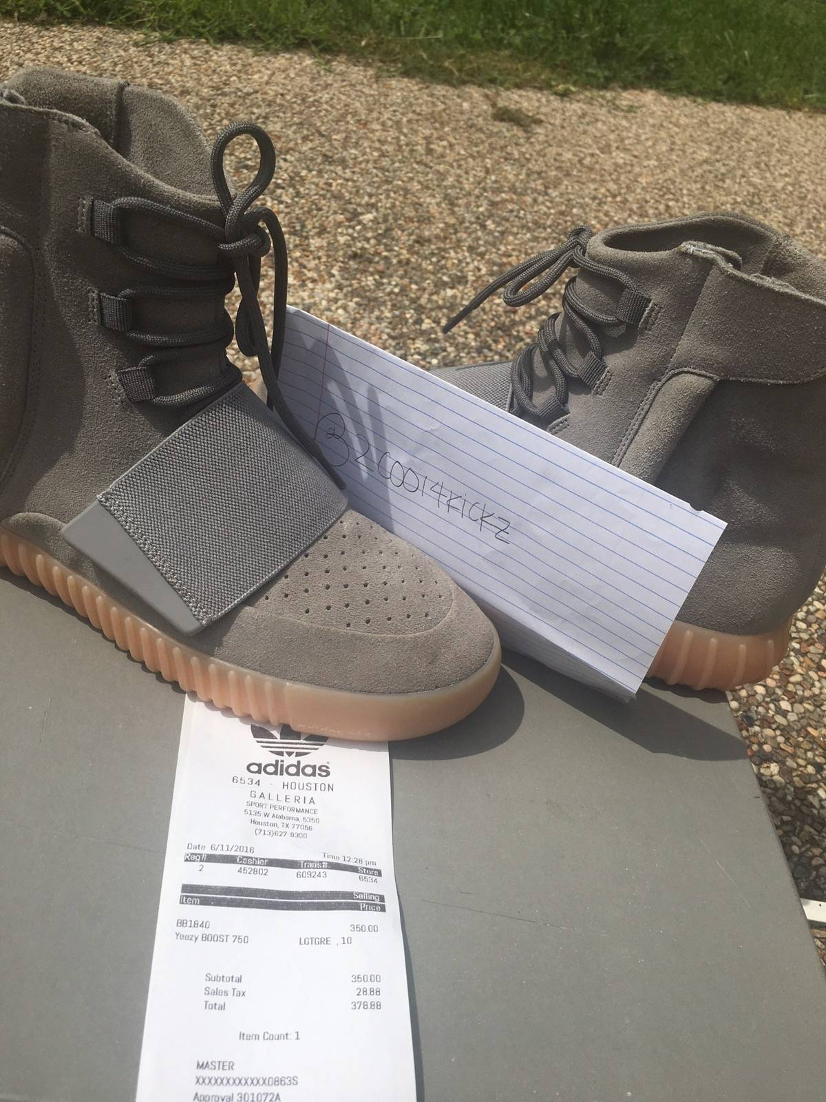 ... spain adidas kanye west yeezy boost 750 grey gum size 10 hi top  sneakers for sale 49ed9dcb2