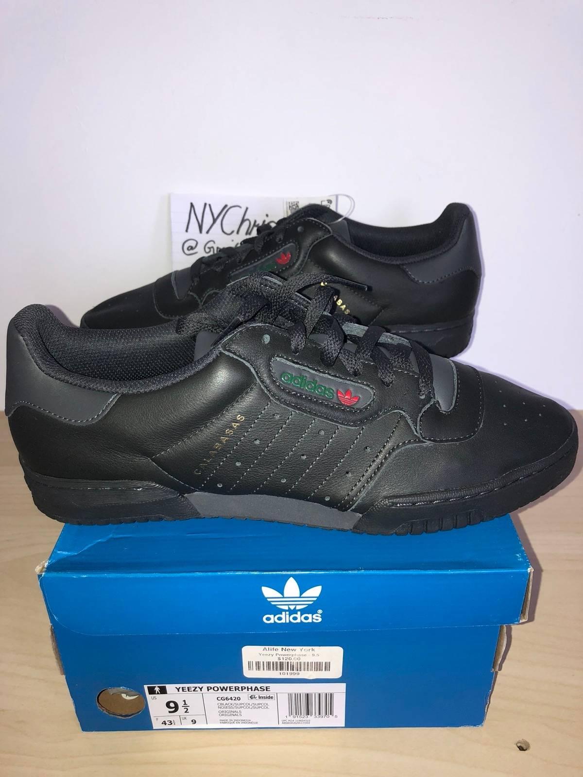 2fac40221 Adidas × Adidas Kanye West × Yeezy Season. YEEZY POWERPHASE (CG6420) BLACK