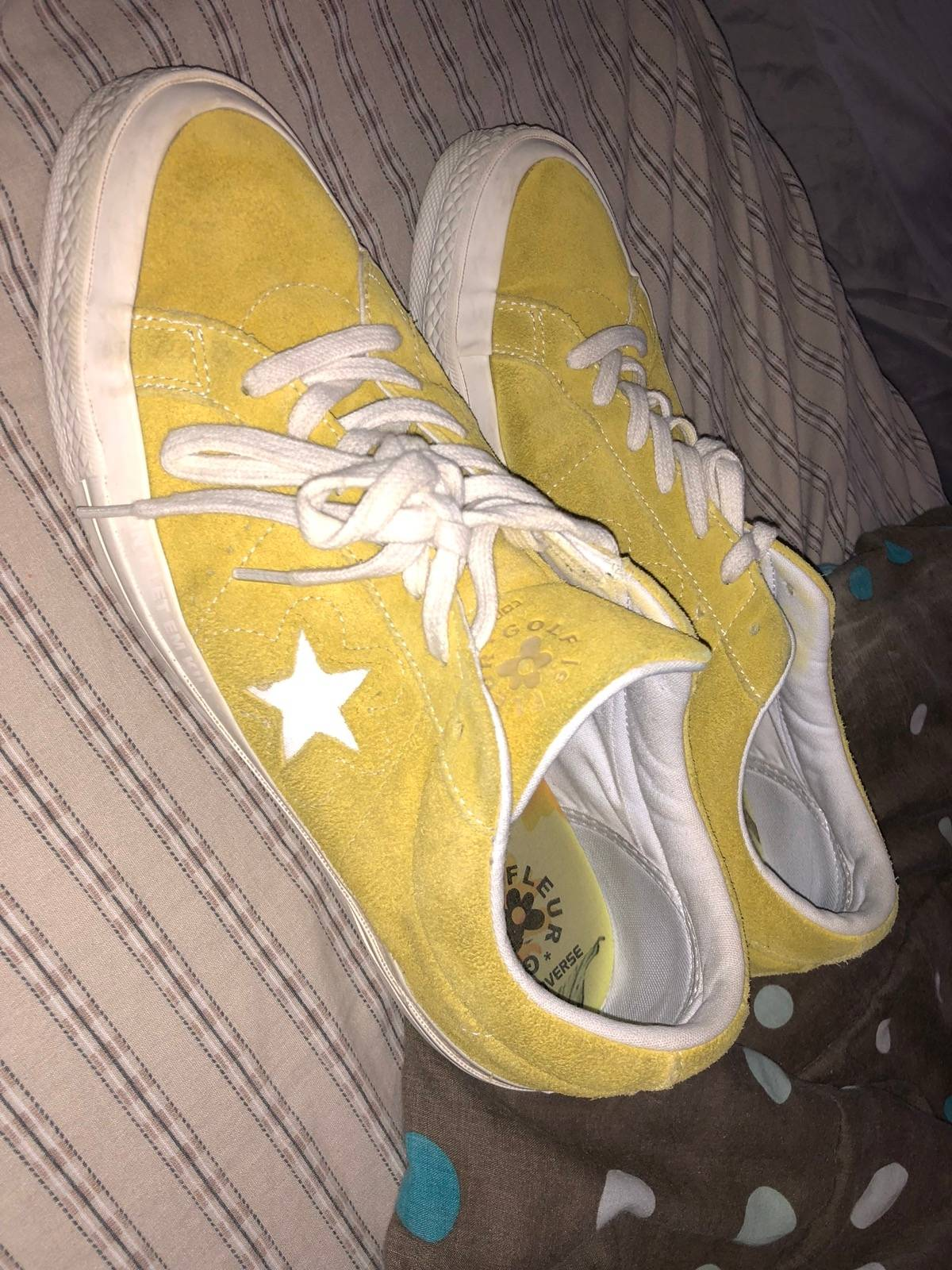 """d84677464fc5 Converse Golf Le Fleur x One Star Ox """"Sulphur Yellow"""" Size 11 - Low-Top  Sneakers for Sale - Grailed"""