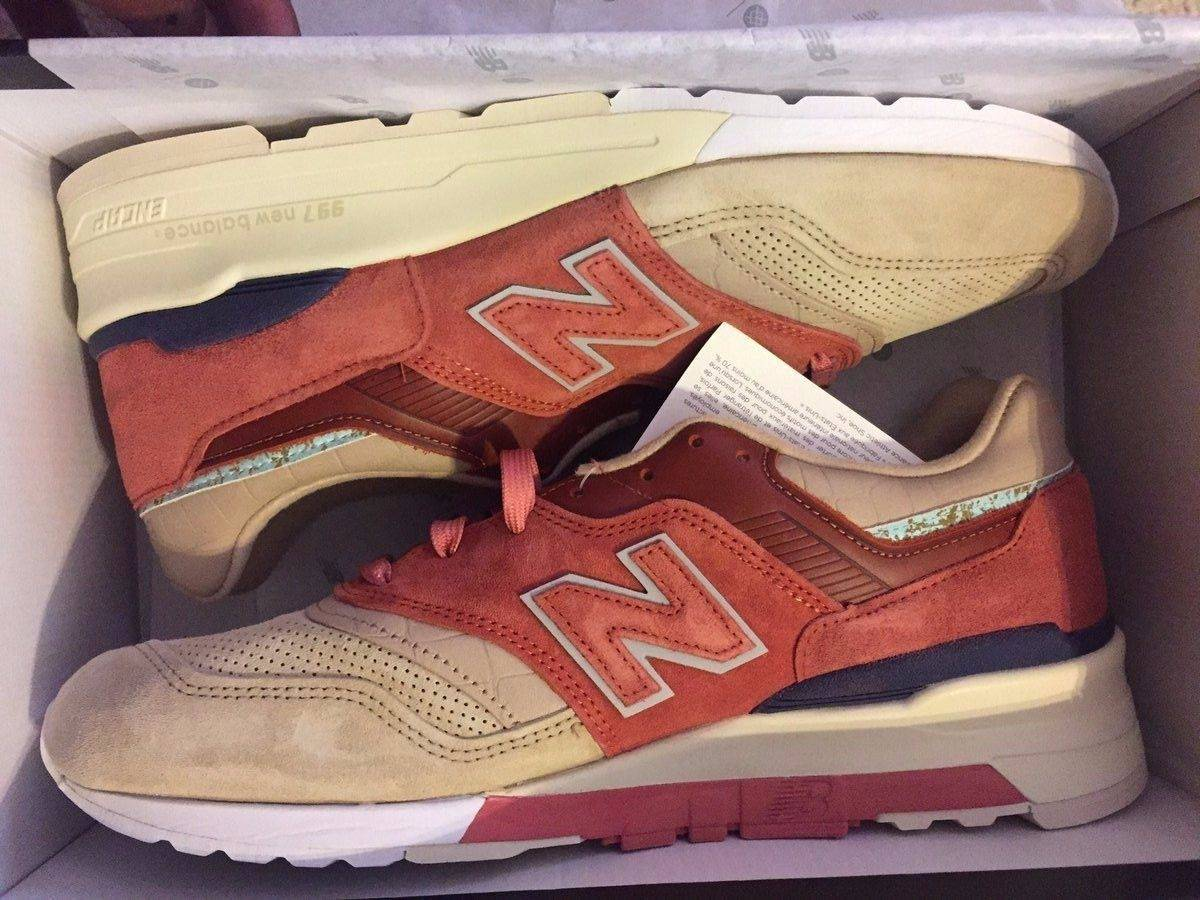 big sale 5f06c 393a4 New Balance × Stance Socks New Balance X Stance M997 St First Of All Copper  Rose Tan Size 8 Size 8 $320