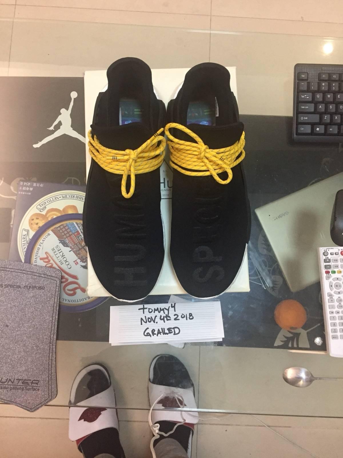 377f31994 Adidas Adidas NMD HU Pharrell Human Species Black Size 13 - Low-Top ...