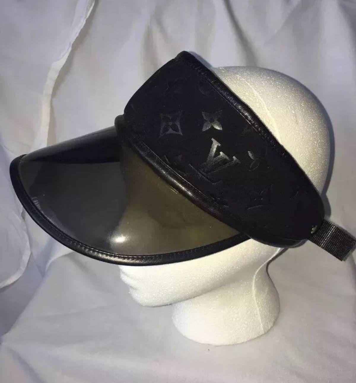 5f948b6e993 Louis Vuitton Authentic Mint Louis Vuitton Paris Monogram Scuba Black Visor  Hat Size one size - Hats for Sale - Grailed