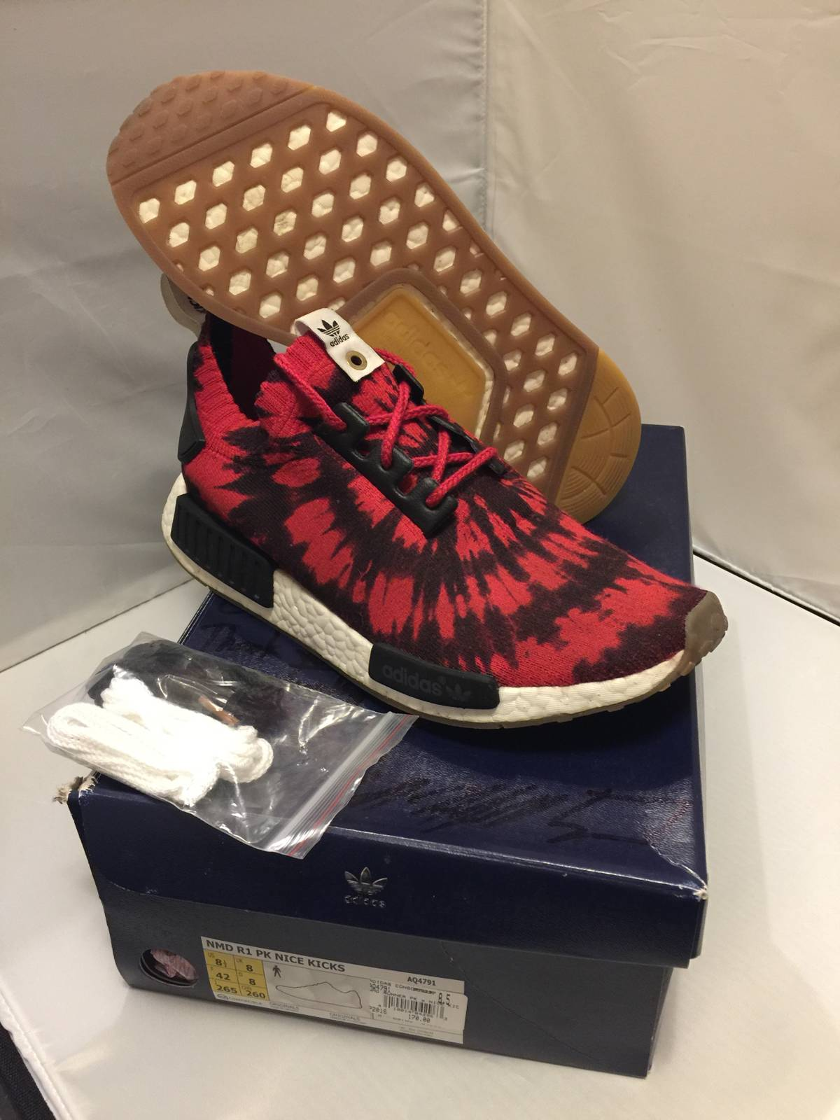 Neu Adidas x Nice Kicks NMD Runner PK HombreMujer Zapatos