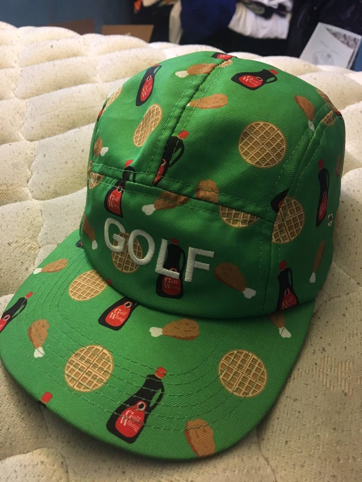 Golf Wang Golf Wang Chicken Waffles Camp Cap Size one size - Hats for Sale  - Grailed fa7c99f59be9