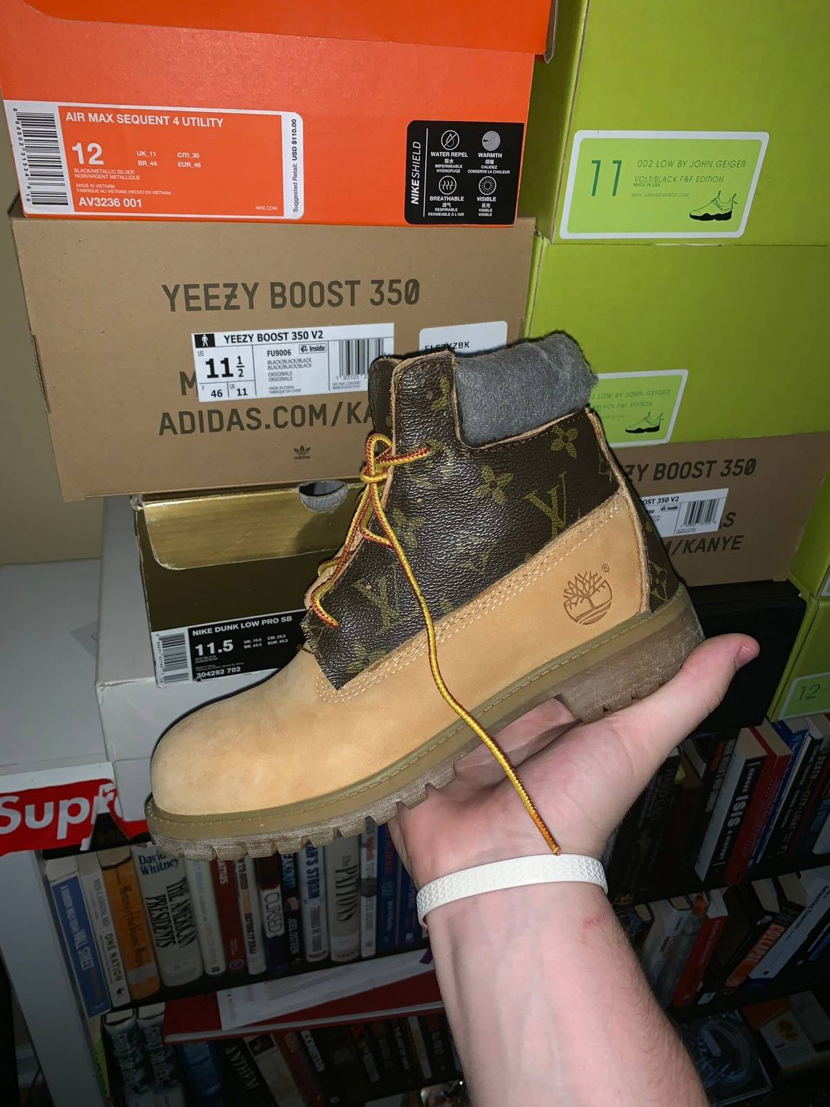 Timberland Kids Custom Timberland Boots   Grailed