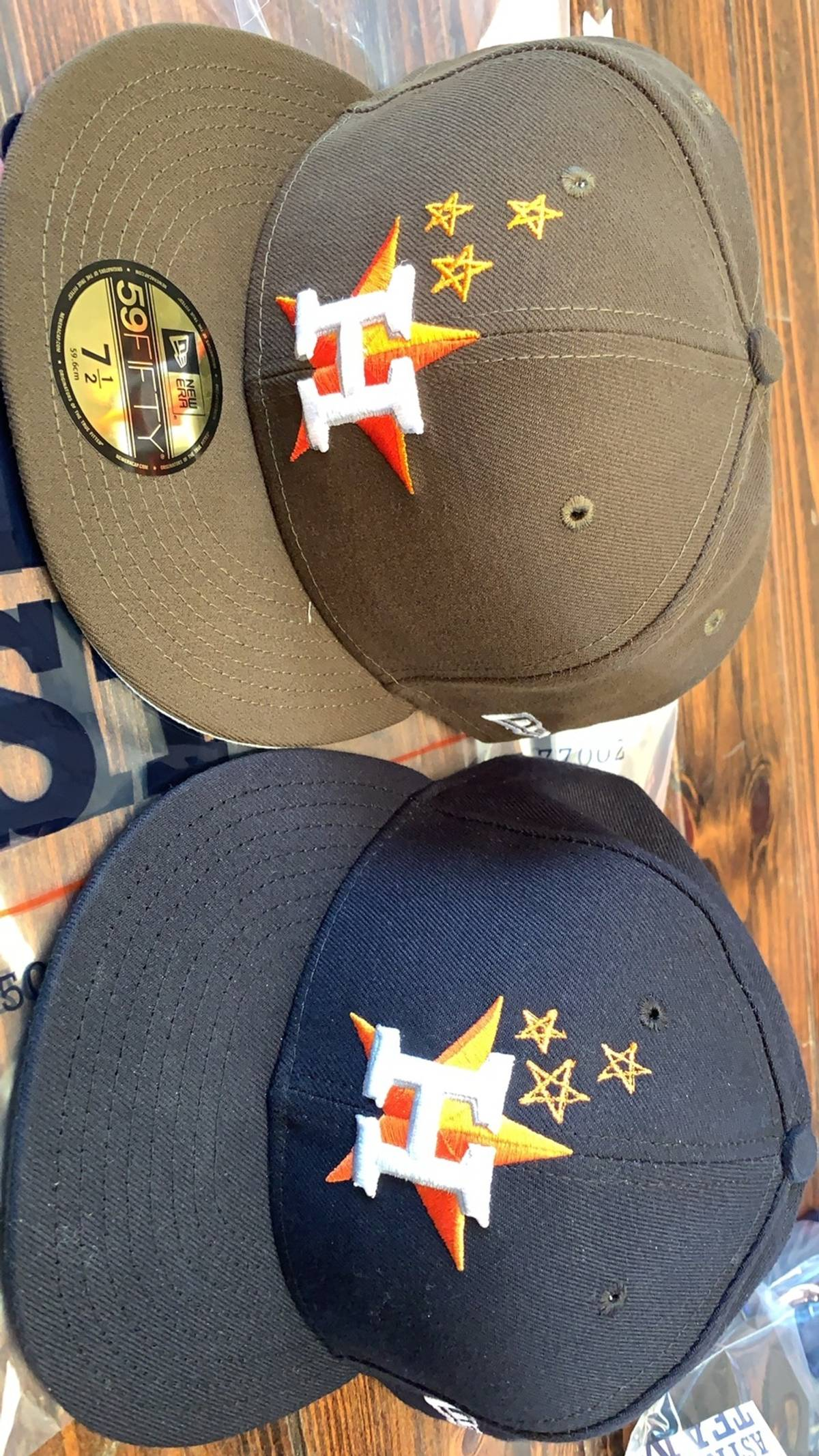 f958fcdc3e8c2 Travis Scott Houston Astros X Travis Scott New Era Brown Hat Size 7 ...