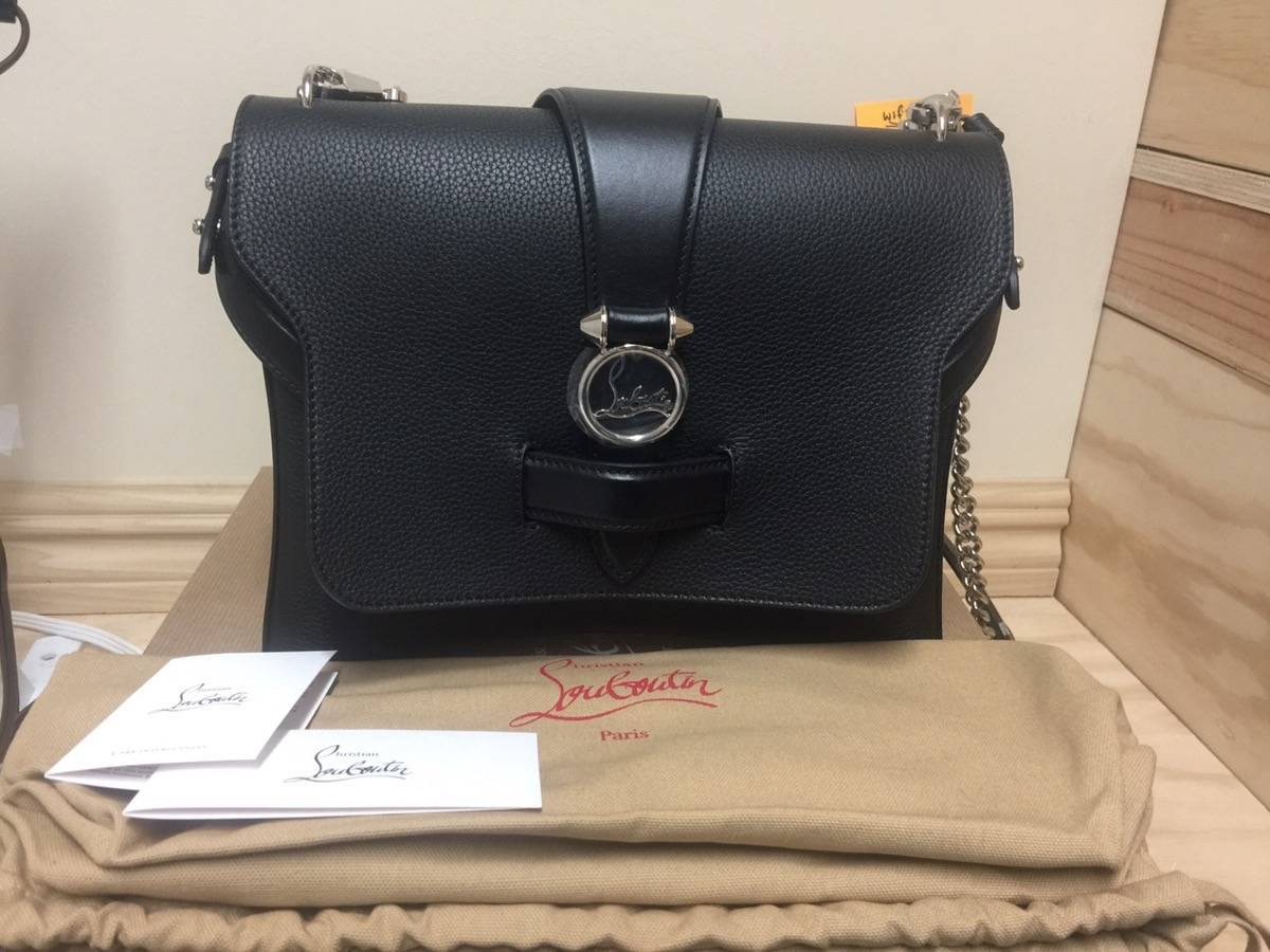 2406932dca Christian Louboutin Christian Louboutin Ruby Lou Medium Calf Empire  Shoulder Bag Size one size - Bags   Luggage for Sale - Grailed