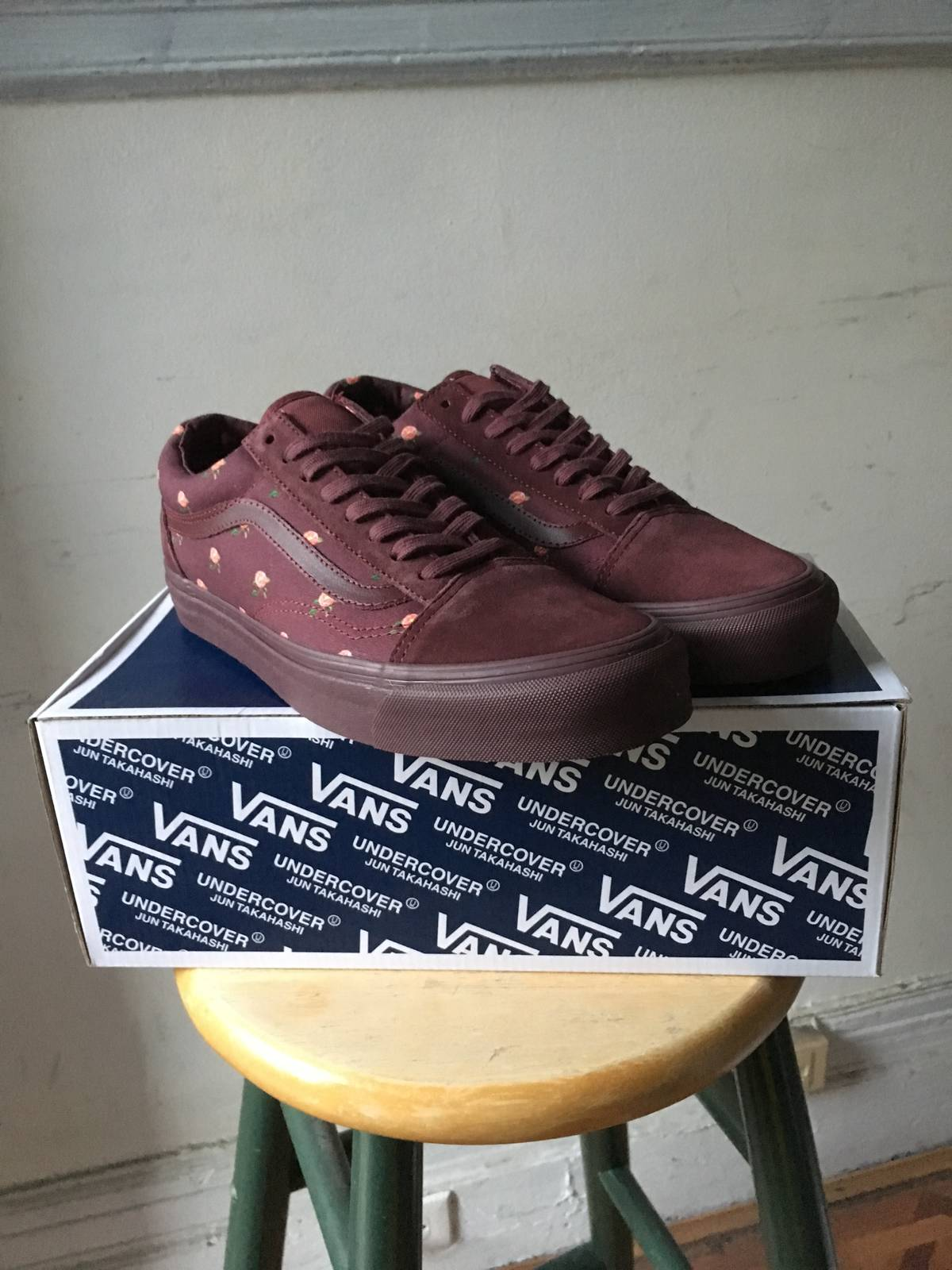 ea10ffeae6 Undercover Burgundy Floral Old Skool Size 9.5 - Low-Top Sneakers for Sale -  Grailed