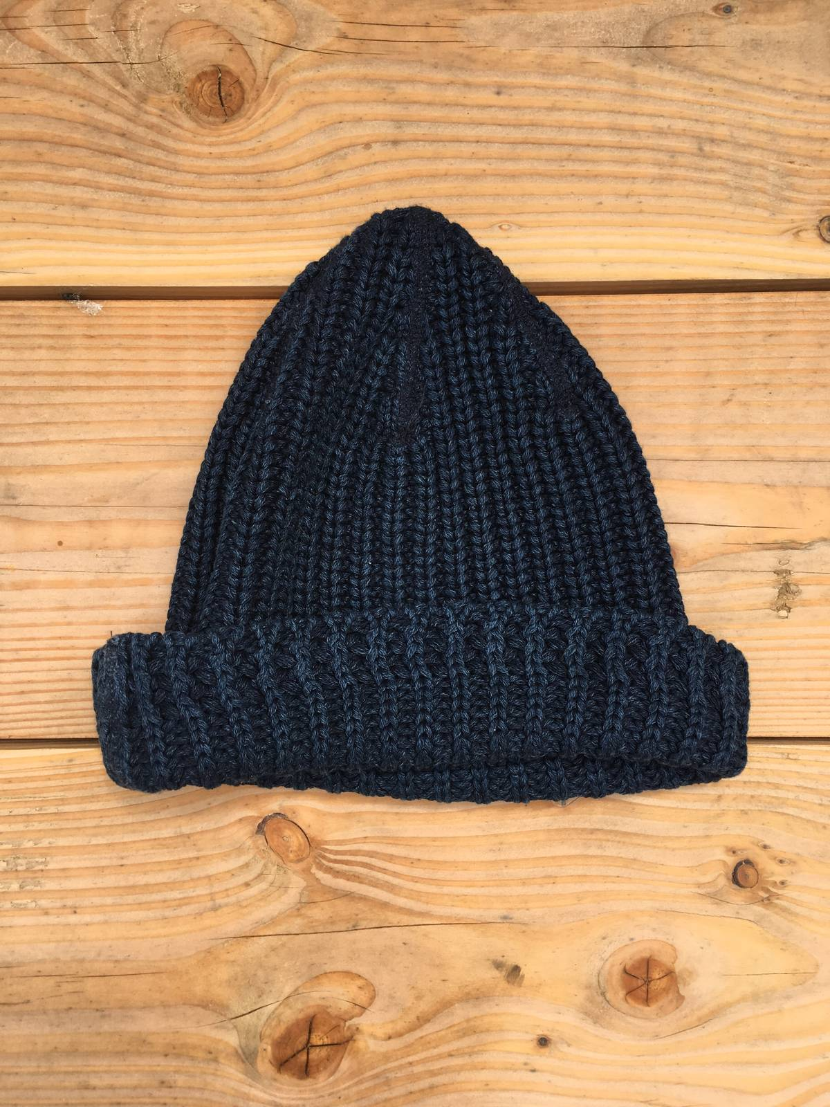 da04b9bd1 Our Legacy Our Legacy Knitted Hat Fluffy Marine Size One Size $45