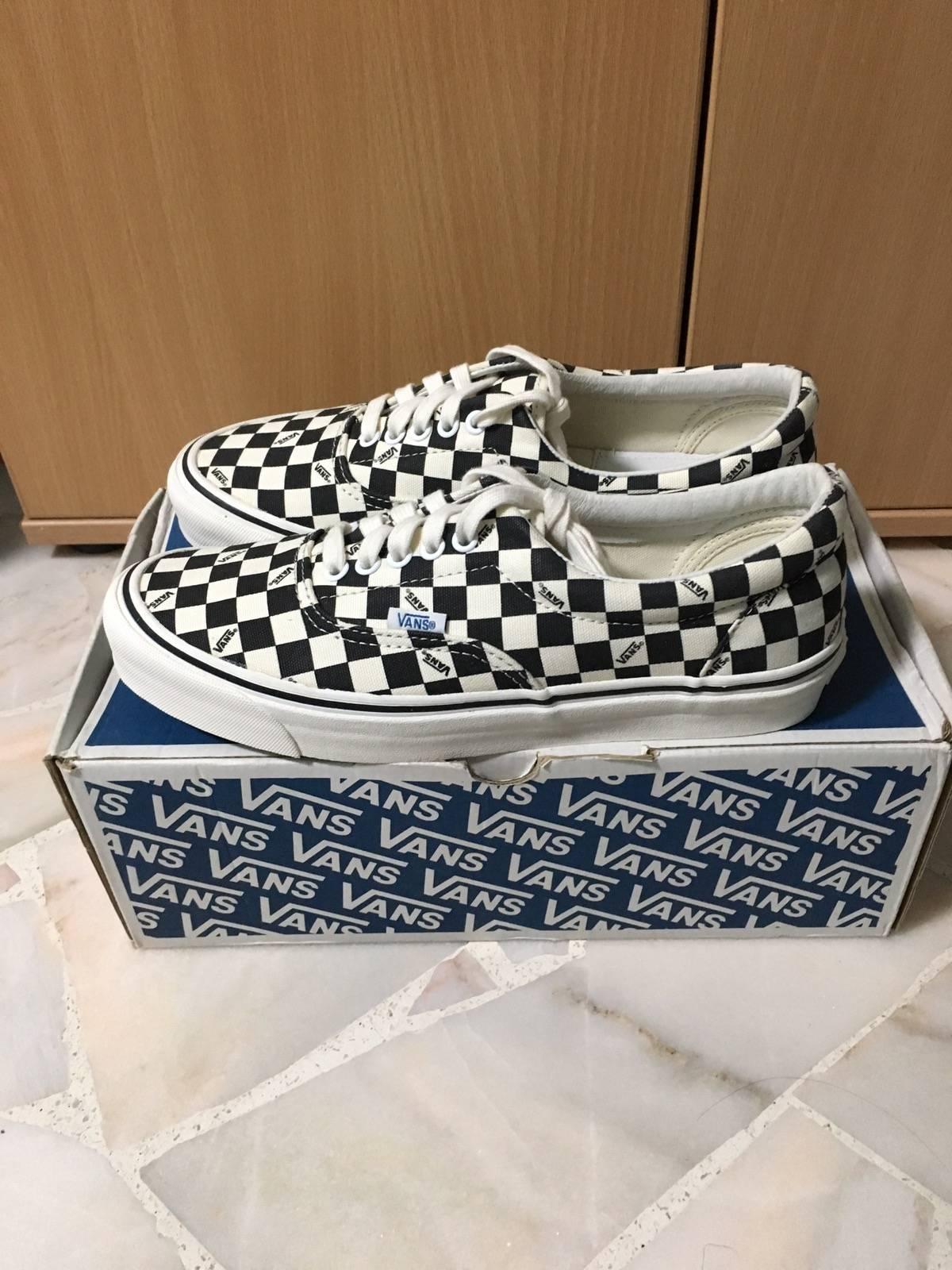 502e09cfbf Vans Vans Vault Lx Og Checkerboard Era US9 Fog Fear Of God Size 9 - Low-Top  Sneakers for Sale - Grailed