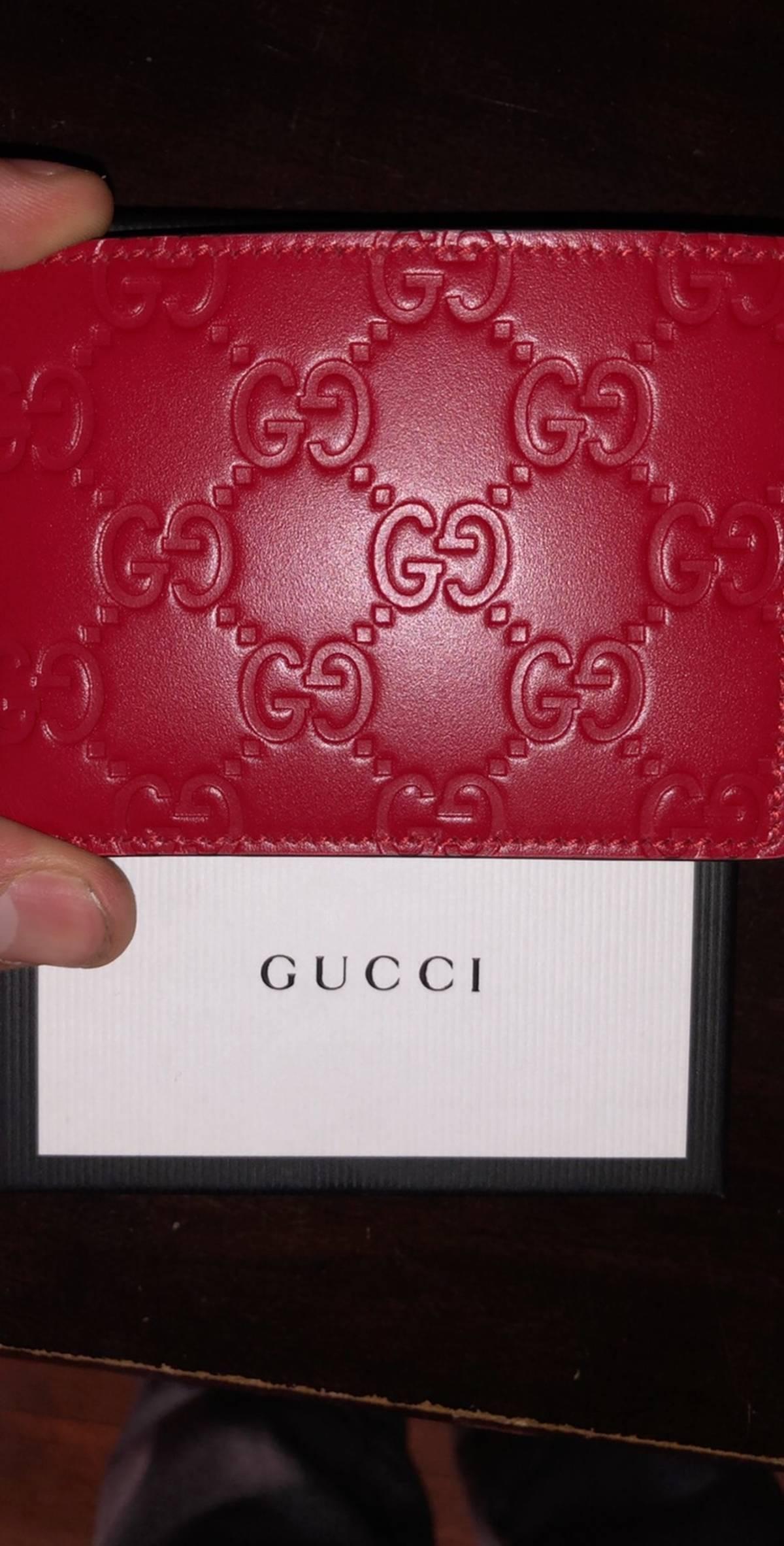 fe8cd7ba514 Gucci ×. Gucci slim gg wallet
