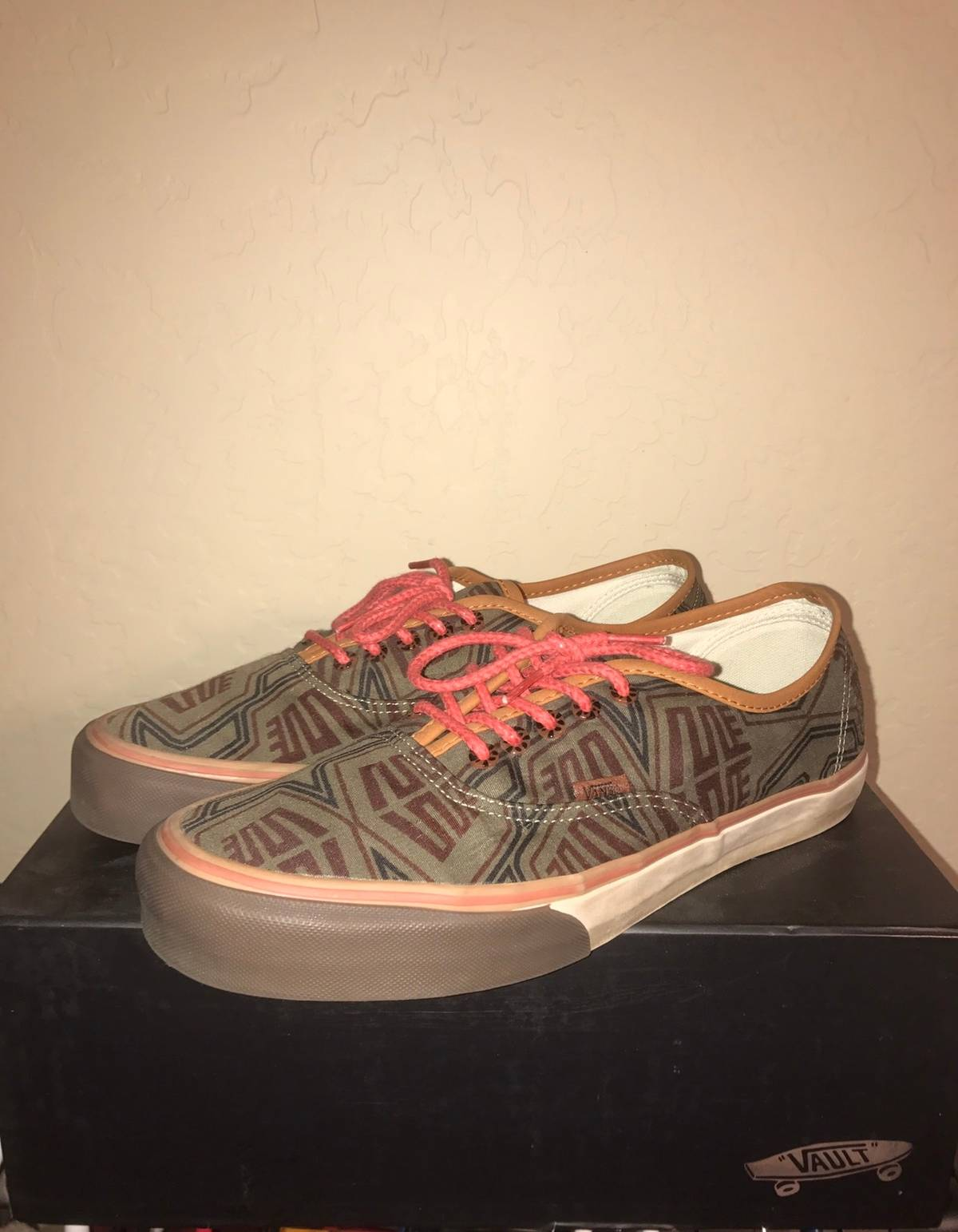 60b95860bf Vans Vans Vault OG Authentic LX x Bodega  Coming to America  Pagne Brown  Size 11 - Low-Top Sneakers for Sale - Grailed