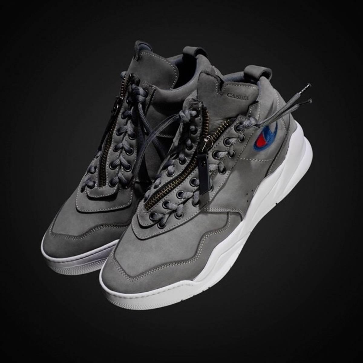 baf9310d614c23 Champion Casbia x Champion AWOL Atlanta Grey Size 12 - Hi-Top Sneakers for  Sale - Grailed