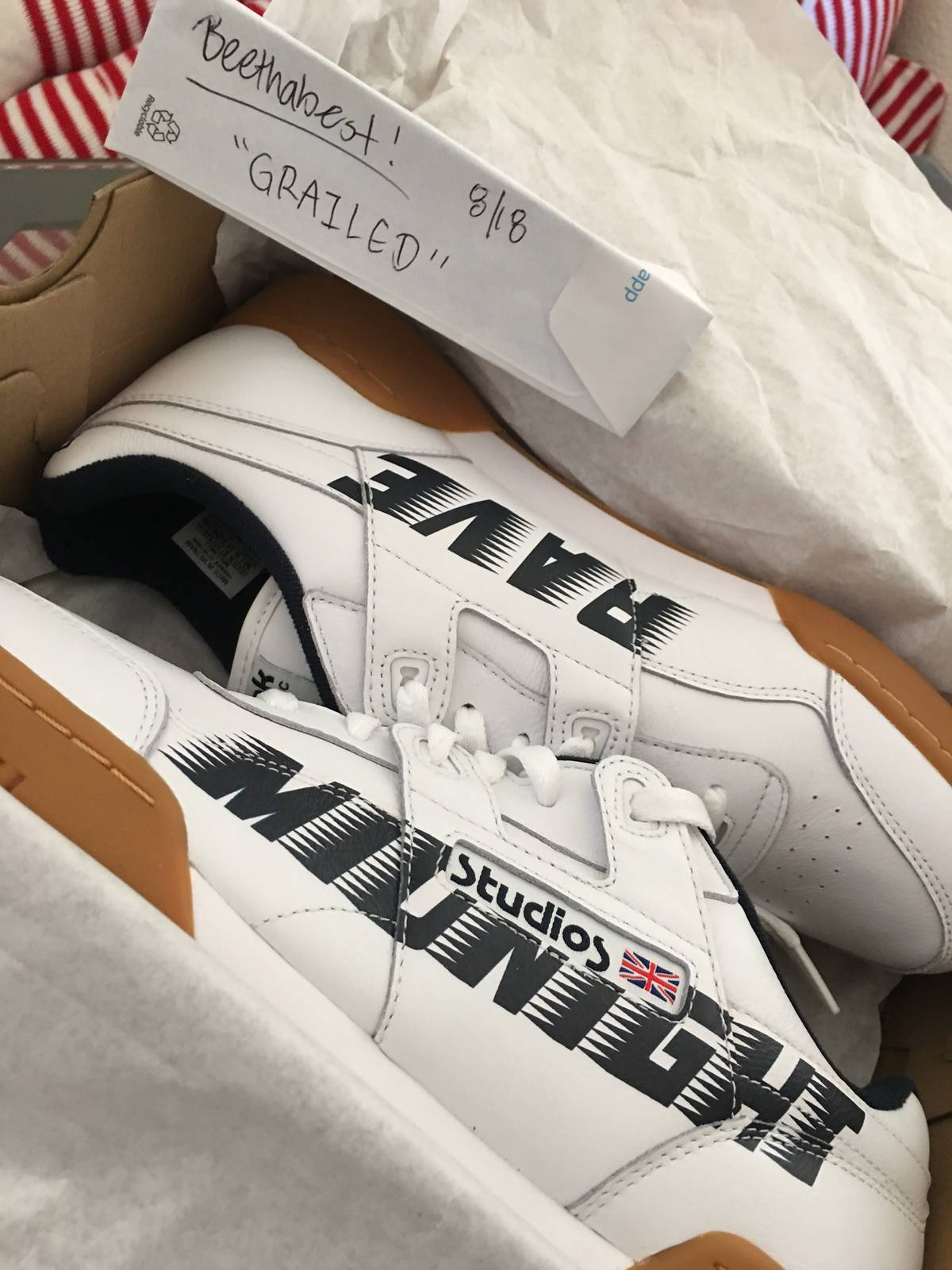a0196dc3bc38 Midnight Studios Reebok X Midnight Studios Collab Size 10 - Low-Top  Sneakers for Sale - Grailed