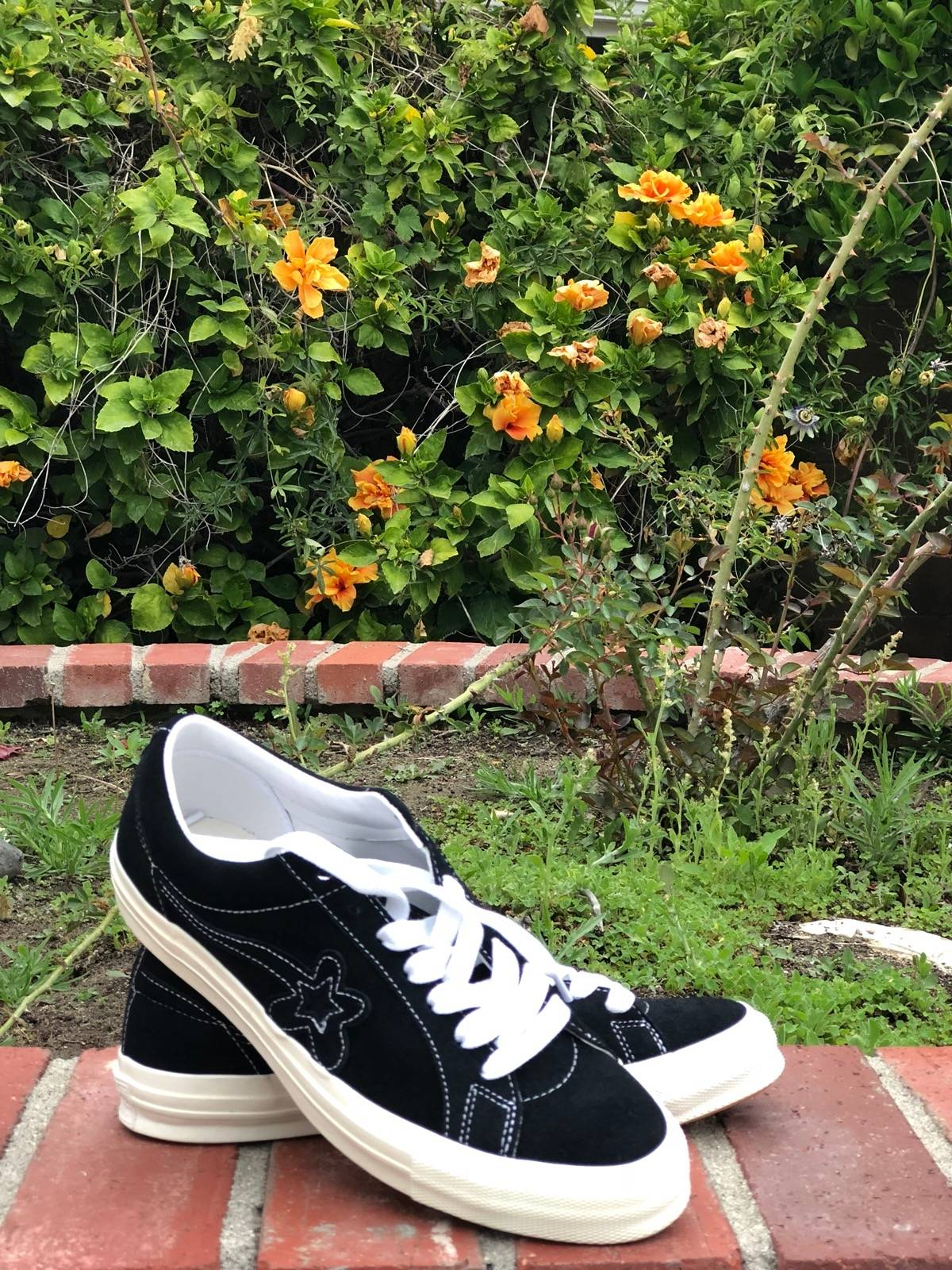"""1ed795931257 Converse Golf le Fleur X Converse One Star """"Mono Black """" Size 10.5 -  Low-Top Sneakers for Sale - Grailed"""