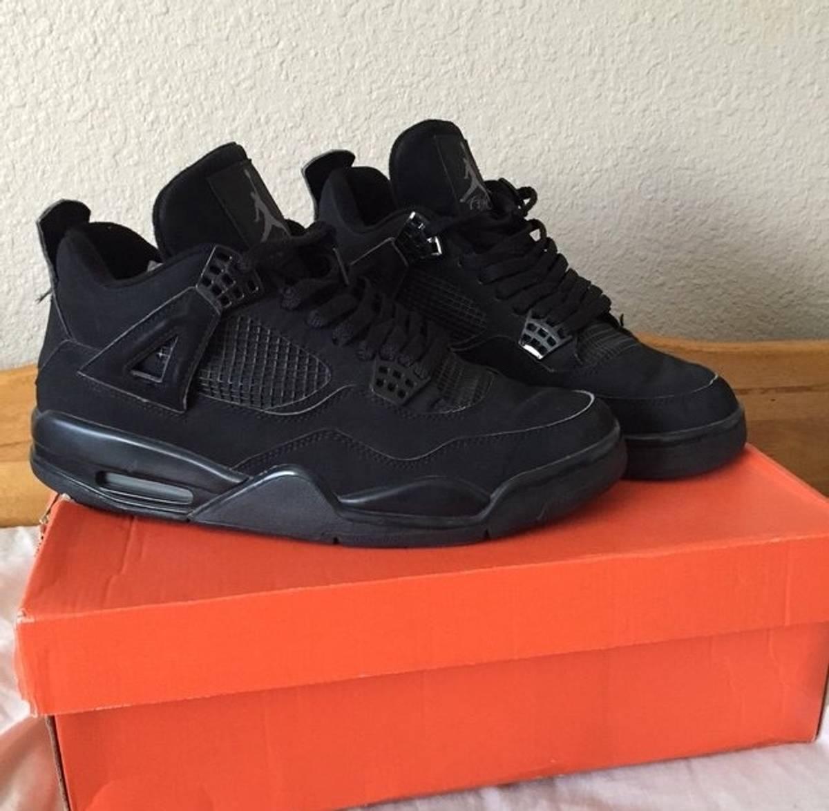 13c2fd35f63d ... Jordan Brand Black Cat 4s Size 10 - Low-Top Sneakers for Sale - Grailed  ...