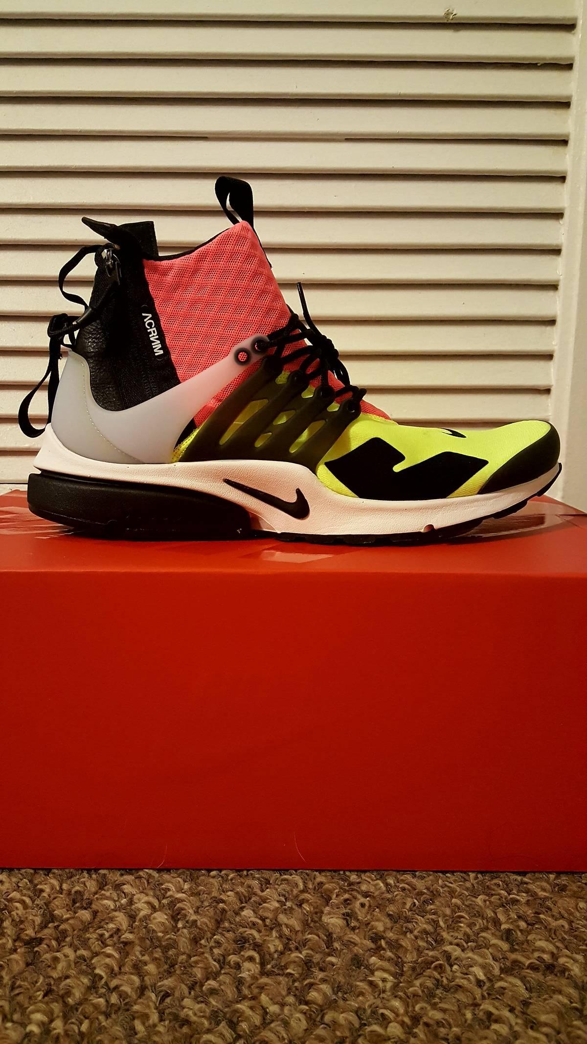 NikeLab x Acronym Men Air Presto Mid (VOLT)