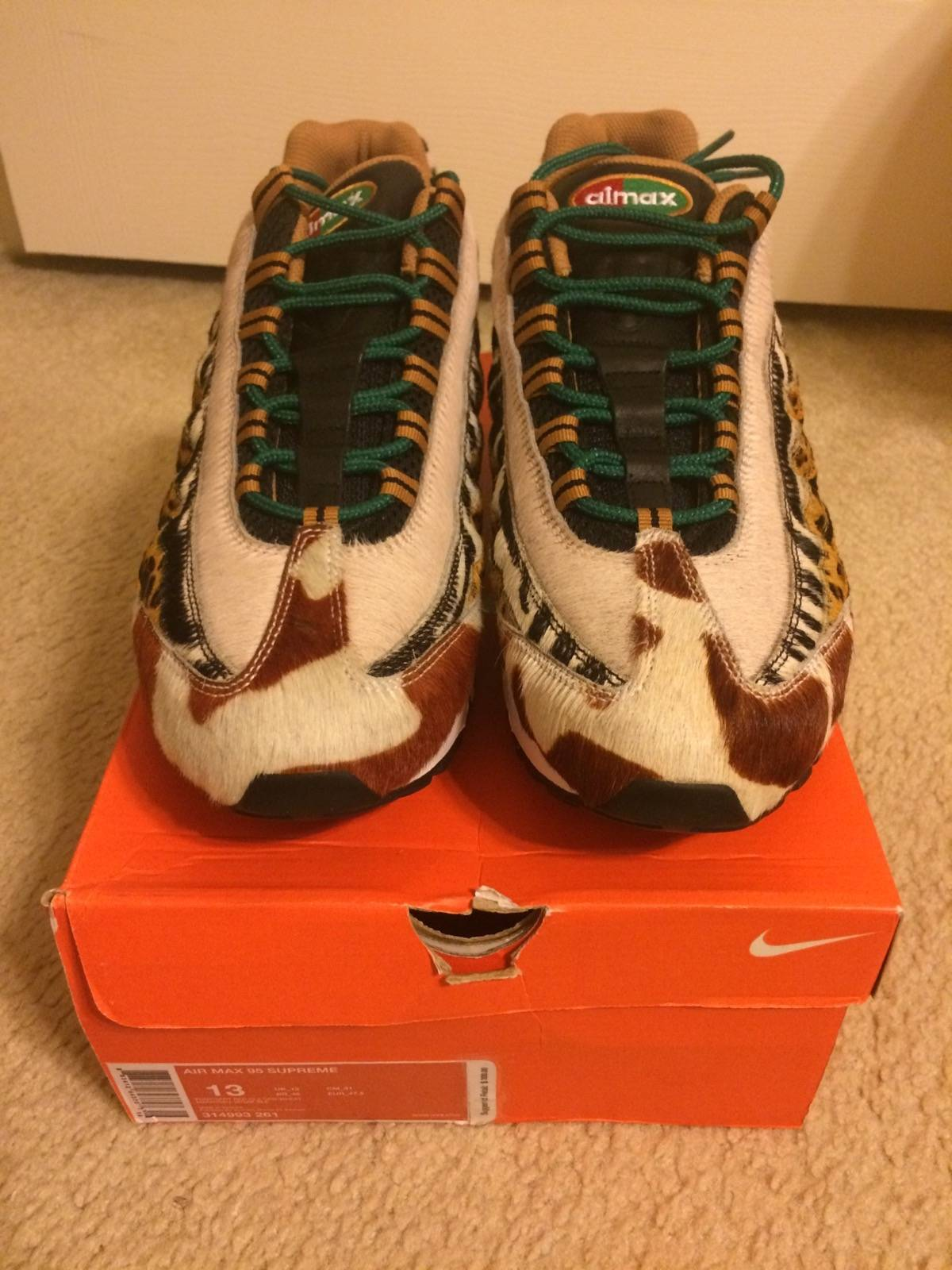 buy popular 22d50 82d83 Nike Nike Air Max 95 Supreme