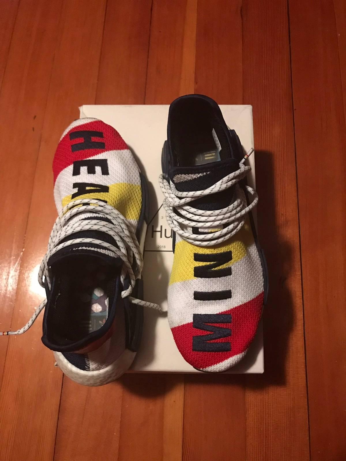finest selection 2dc85 bb39c Adidas × Billionaire Boys Club × Pharrell Human Race Bbc Nmd Size 9.5 $243