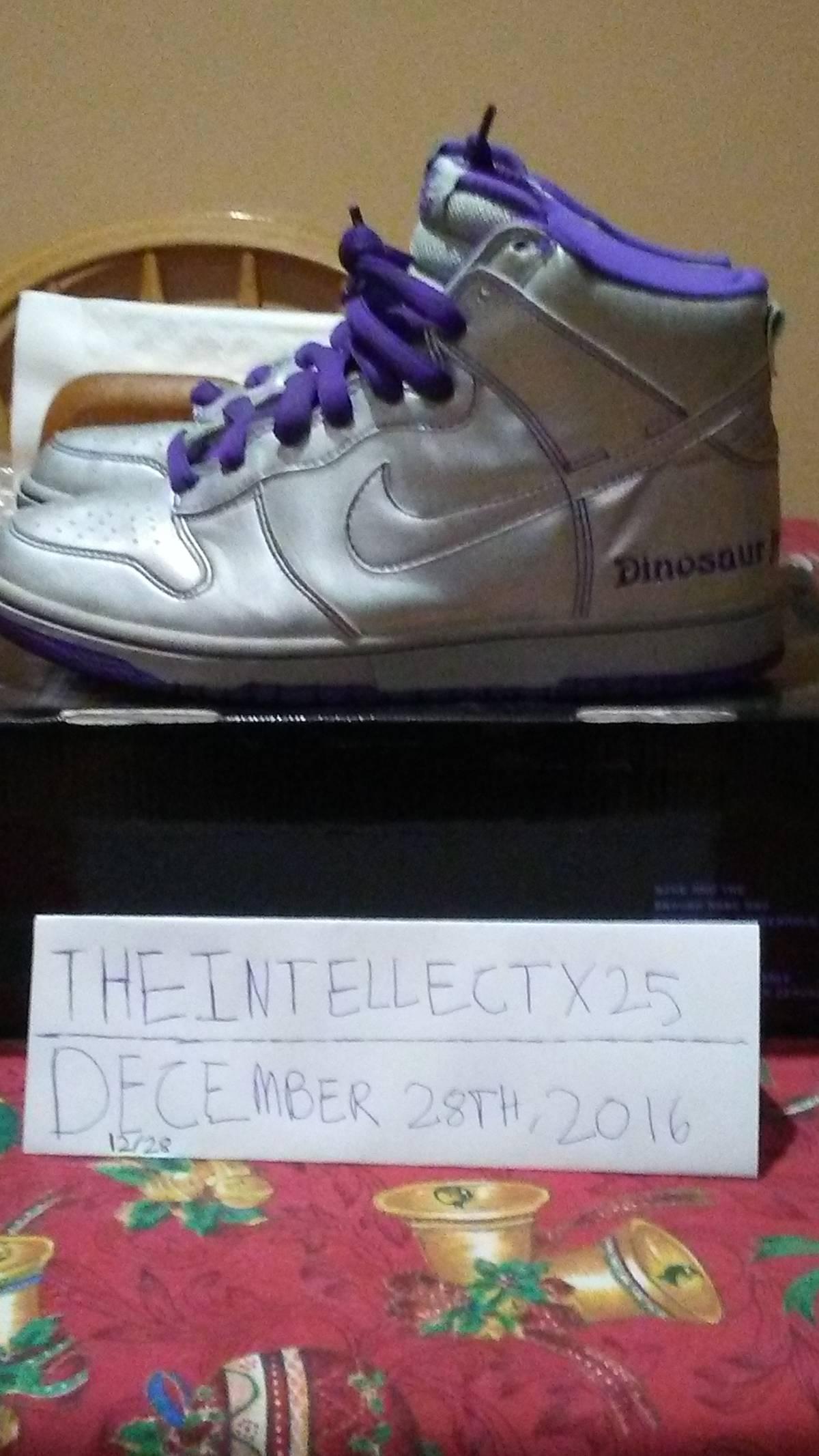 1dc40758cb Nike Nike Sb Dunk Hi Dinosaur Jr | Grailed