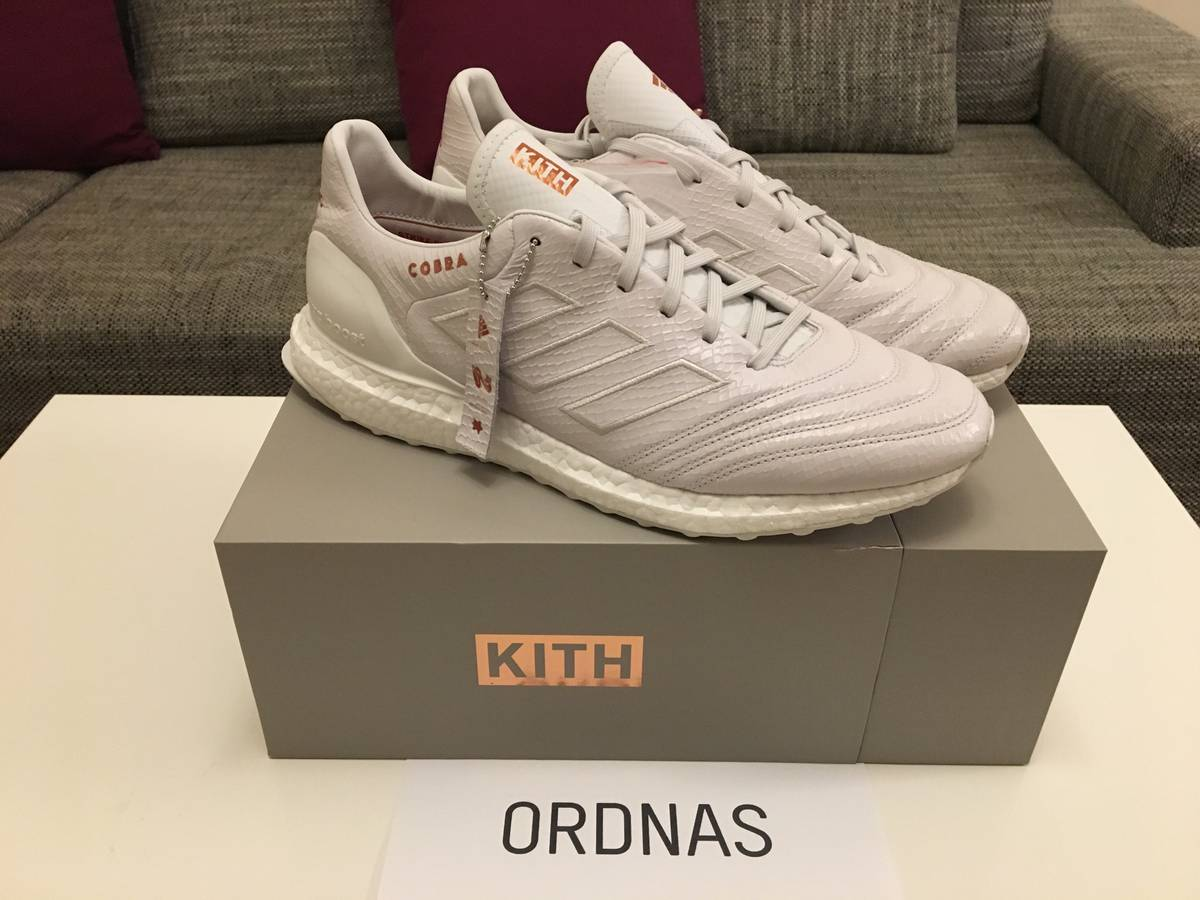 huge discount c7ee0 1190d Adidas Kith x Adidas Copa 17.1 Cobra Ultra Boost Size 11.5 - Low-Top  Sneakers for Sale - Grailed