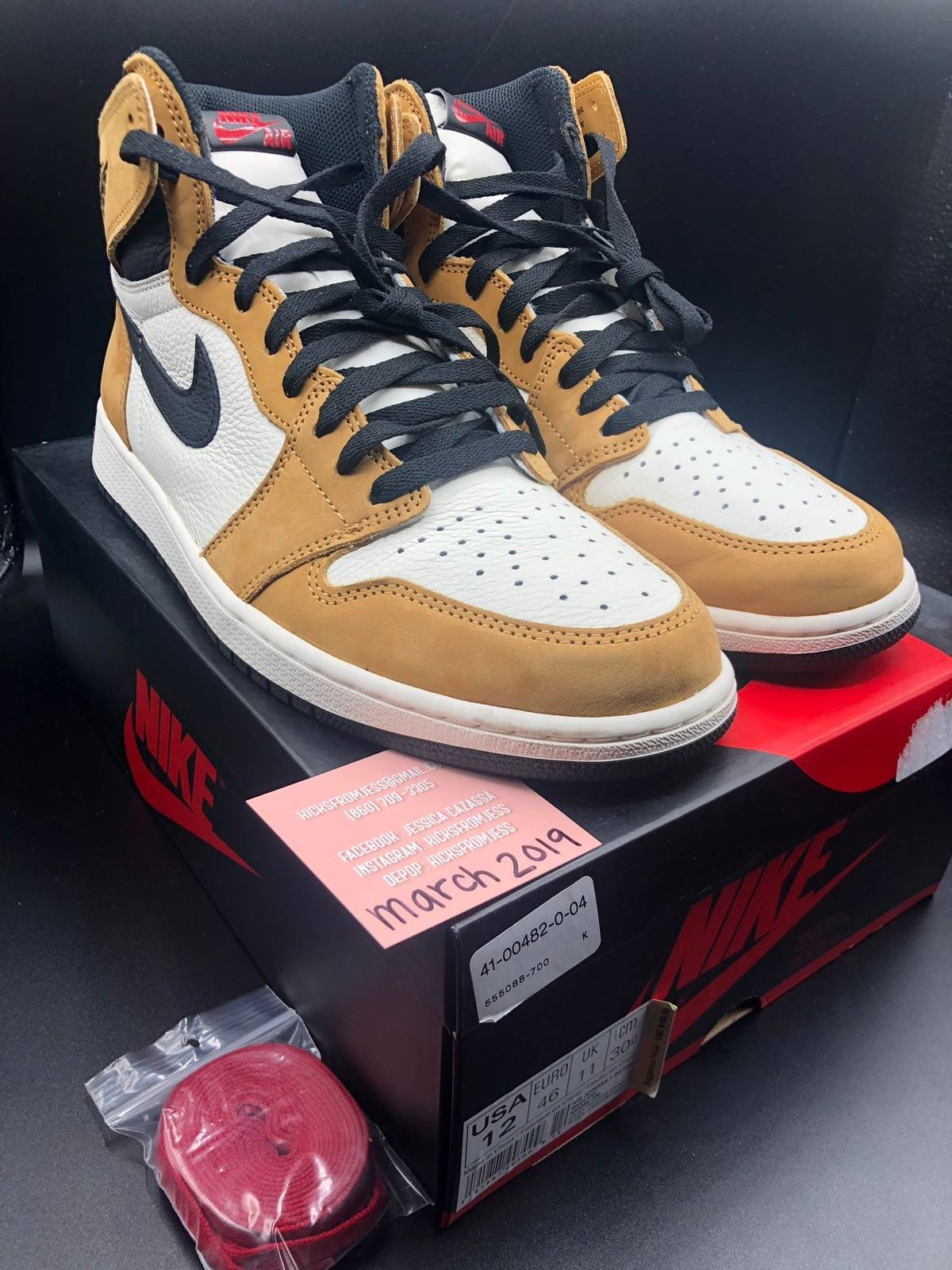 0289c693af02 Nike Air Jordan Retro 1 Roty Or Rookie Of The Year