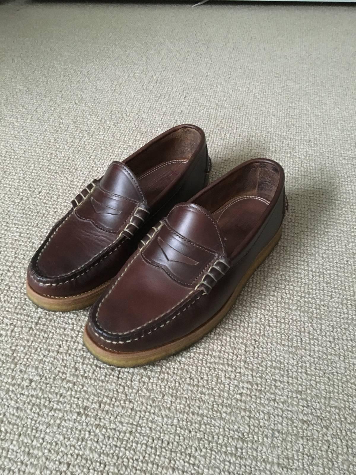 c0d7eba95c5 Oak Street Bootmakers Brown Cxl Crepe Sole Loafer