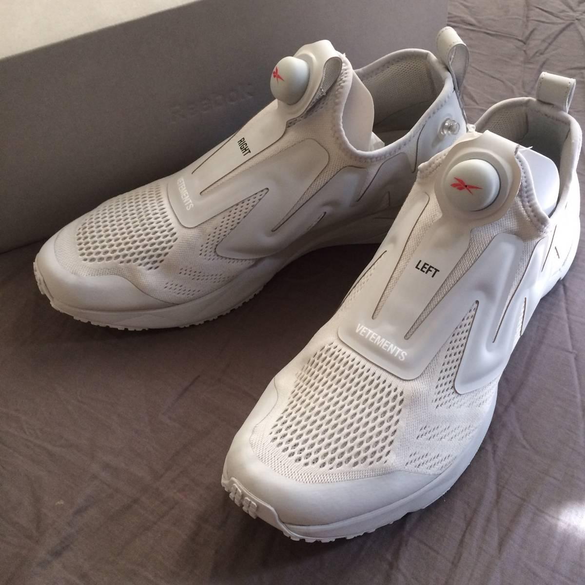 Vetements Vetements x Reebok Pump Supreme DSM Exclusive (Grey) Size 11.5 -  Low-Top Sneakers for Sale - Grailed 20c66375262b