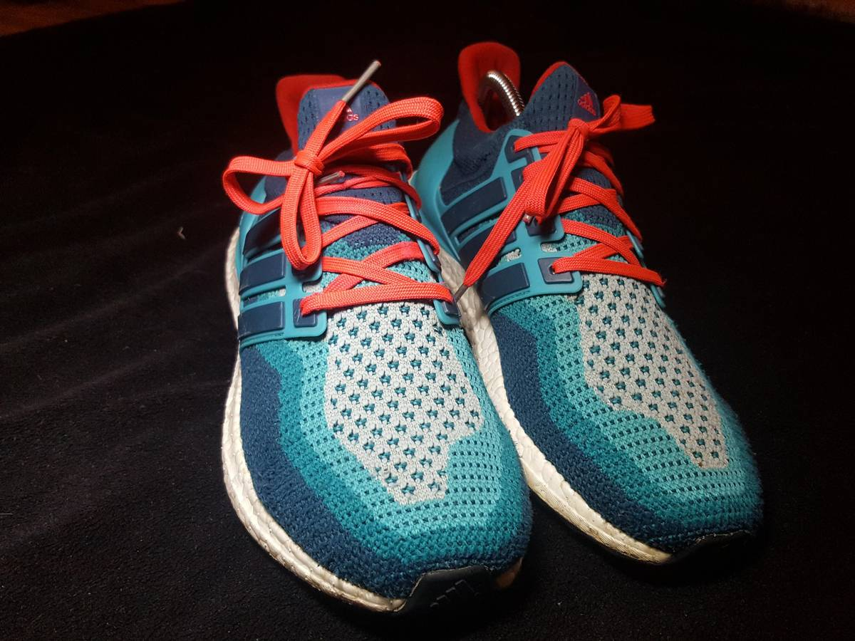 44fed7b0e ... Adidas Adidas Ultra Boost Miami Dolphins Size 8.5 - Low-Top Sneakers  for Sale ...