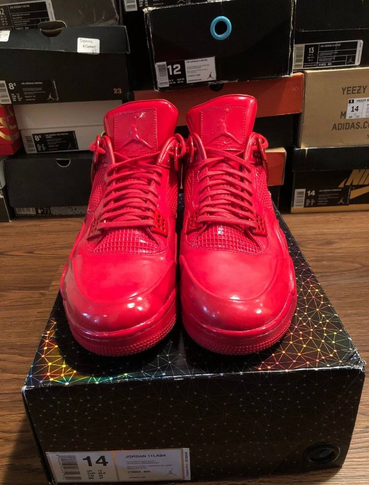 "premium selection 0d362 b19a2 Jordan Brand Nike Air Jordan 4 ""11lab4"" Red Size 14 Size 14 $250"