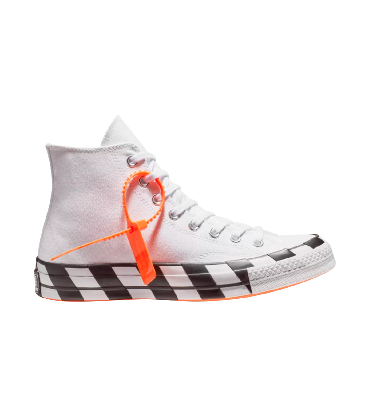 Converse × Nike × Off White Off White X Converse Chuck Taylor All Star 70s  Hi Size 7 $360