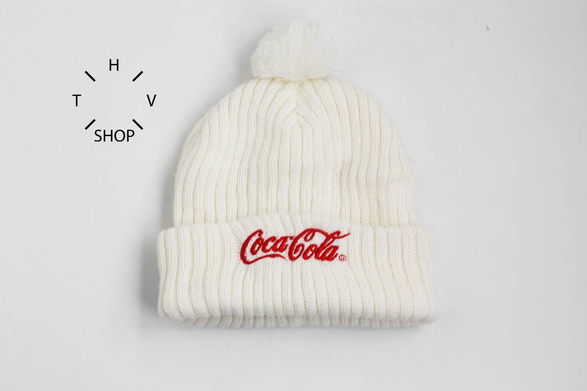 Coca Cola Coke beanie knit hat cap pom winter outdoor white red vintage  retro one size Size one size - Hats for Sale - Grailed e73d3706f6a