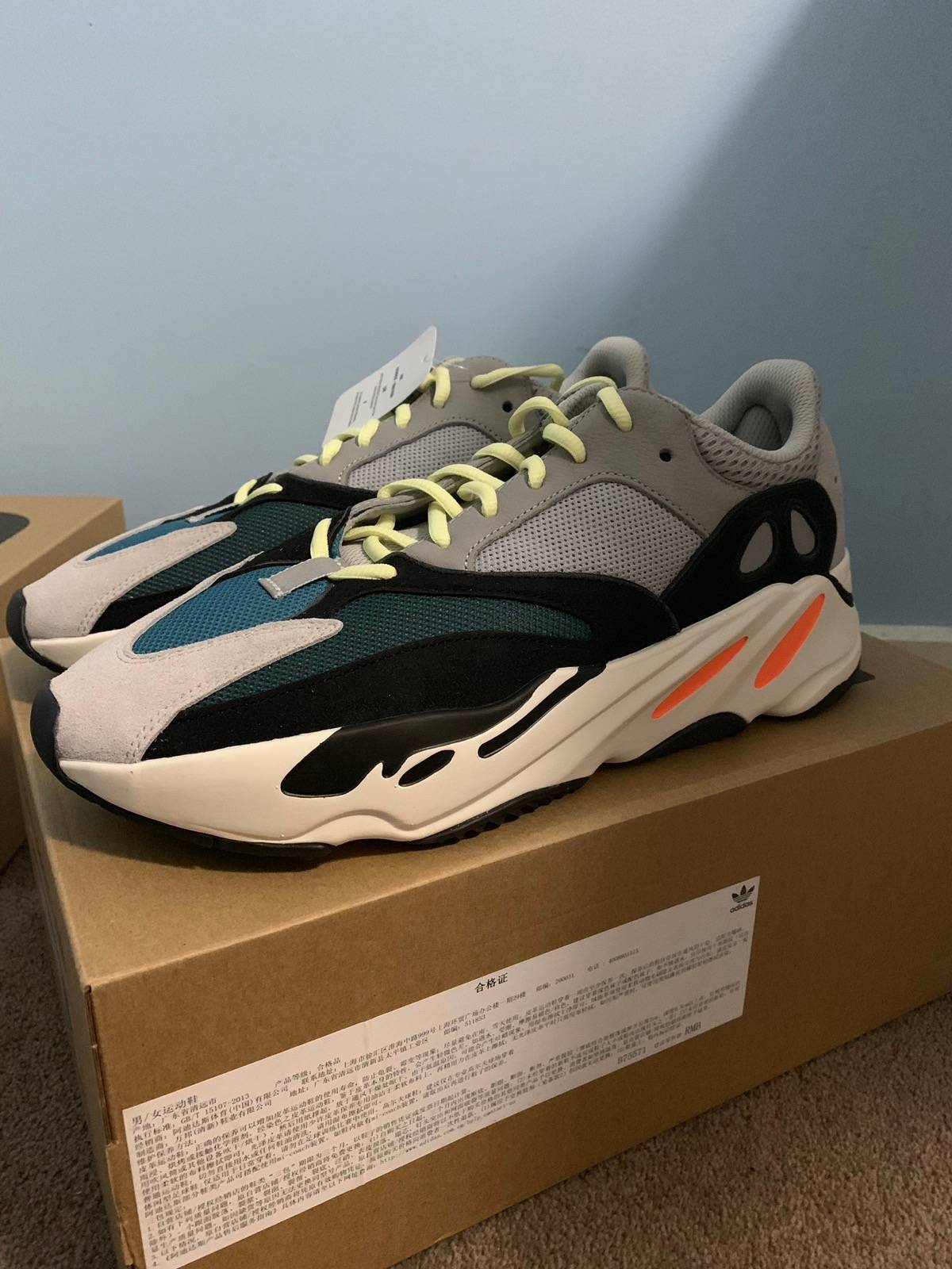 4c494f7fc5d88 Adidas Kanye West × Yeezy Boost × Yeezy Season. Wave Runner 700 OG. Size  US  12   EU 45
