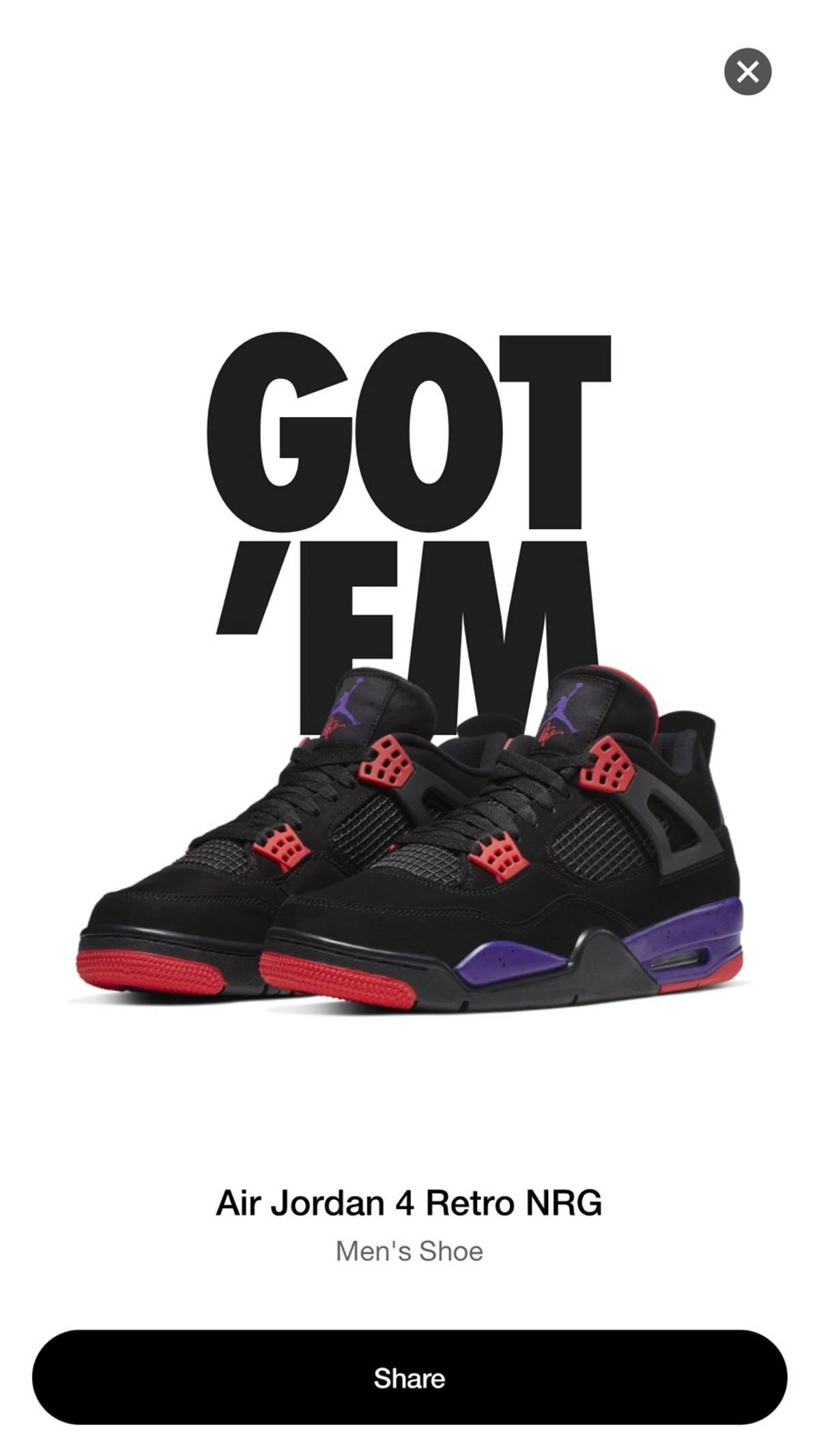 huge selection of c93f5 5cbaf Drake × Jordan Brand × Nike Jordan Raptor 4s Nrg Size Ten Size 10 $280