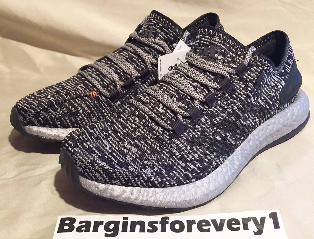 outlet store 9ff07 3599b Adidas New Men's Adidas PureBOOST LTD - Size 8.5 - Grey/Black/Silver -  S80701 - Limited Size 8.5 - Low-Top Sneakers for Sale - Grailed