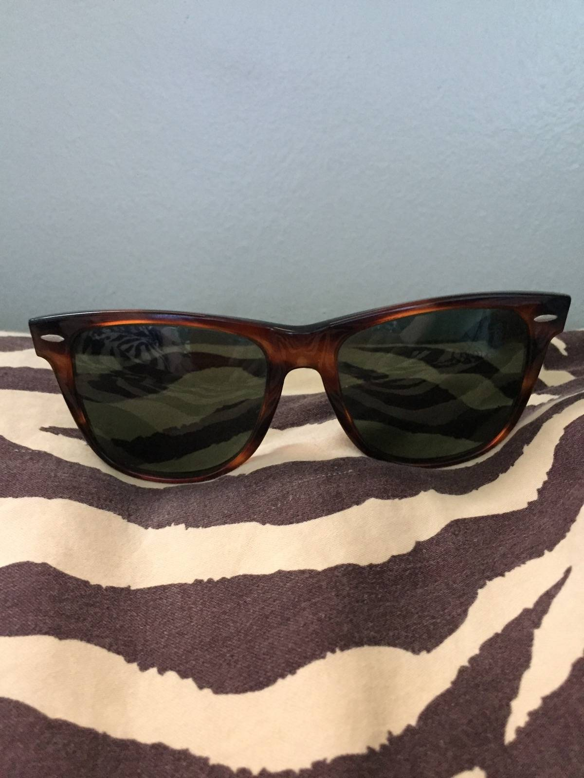 7bec72300c4 RayBan Ray Ban Bausch and Lomb Wayfarer 2 Size one size - Sunglasses for  Sale - Grailed