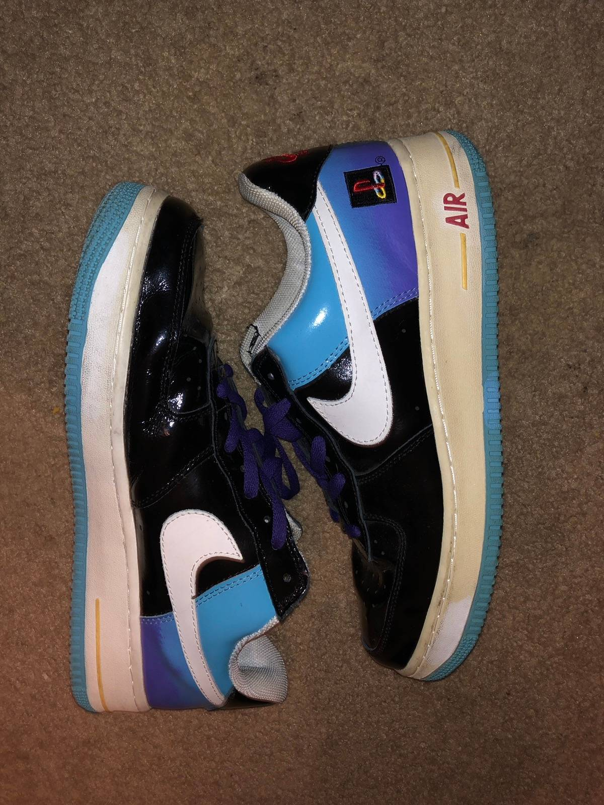 efa698d7045 Unbranded Nike Air Force 1 Playstation (Fake) Size 12 $40