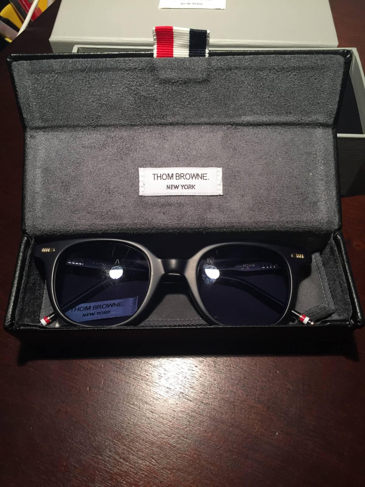 98694da736d Thom Browne Tb 405 Navy Sunglasses