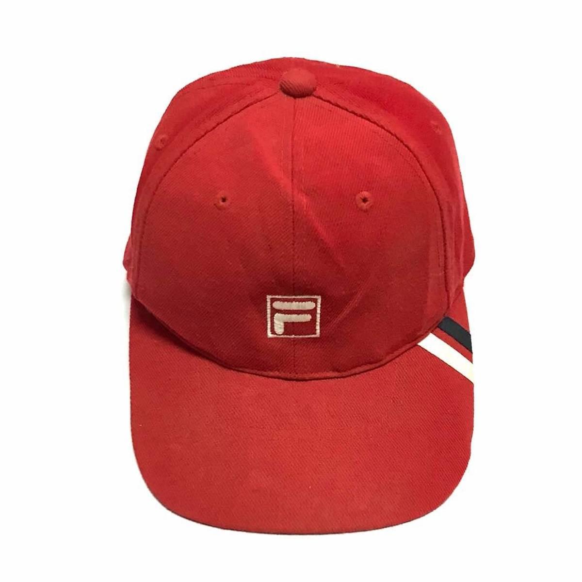 Fila Rare!! Vintage Fila Baseball Cap Snapback One Size Fits All ... 029a8b2b029