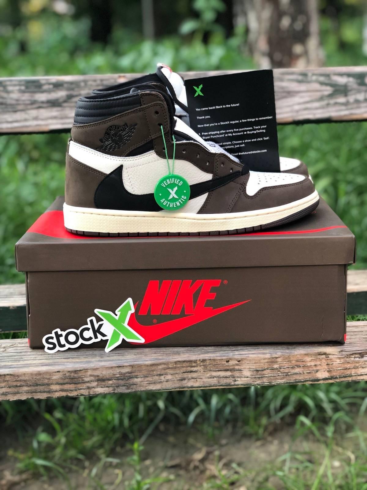 ba148d247e4 Nike Nike Jordan 1 High Travis Scott Cactus Jack Stockx Verified ...