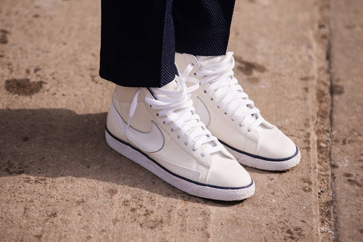 promo code a9c8a 8d9d6 Nike A.P.C. x Nike Blazer Hi Size 12 - Hi-Top Sneakers for S