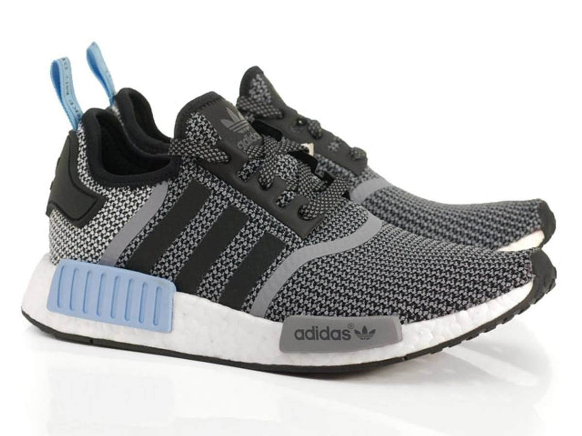 Adidas NMD R1 Black Light Blue Grey Size 9.5 - Low-Top Sneakers for Sale -  Grailed fff7ac02c