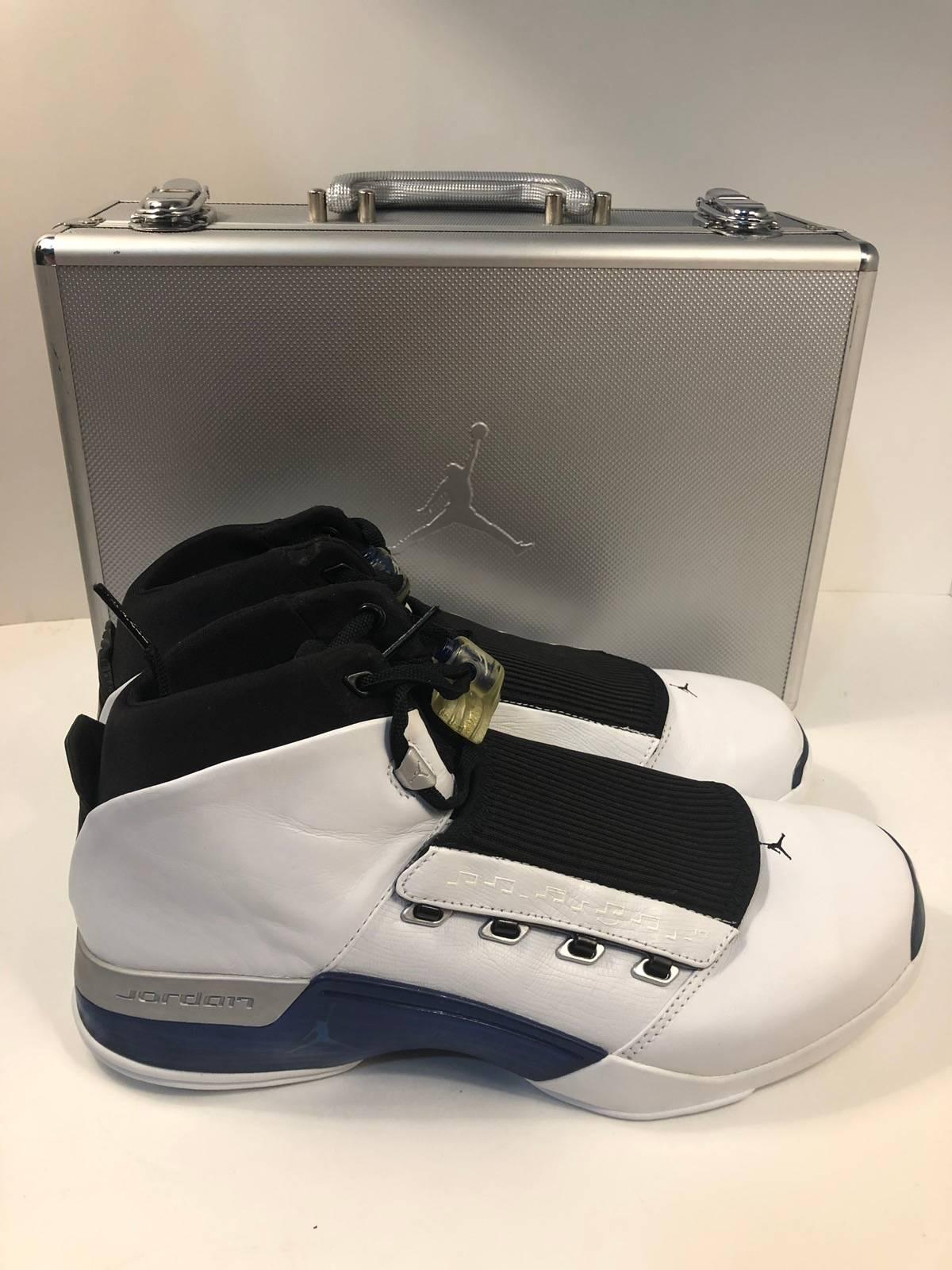 huge selection of 4779c 92e54 Jordan Brand. Rare 2002 Nike Air Jordan 17 White College Blue Black