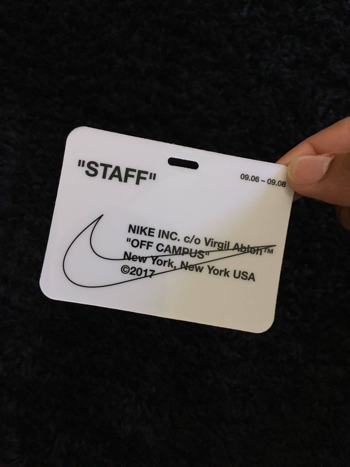 Off white off white x nike off campus badge size one size off white off white x nike off campus badge size one size miscellaneous for sale grailed colourmoves