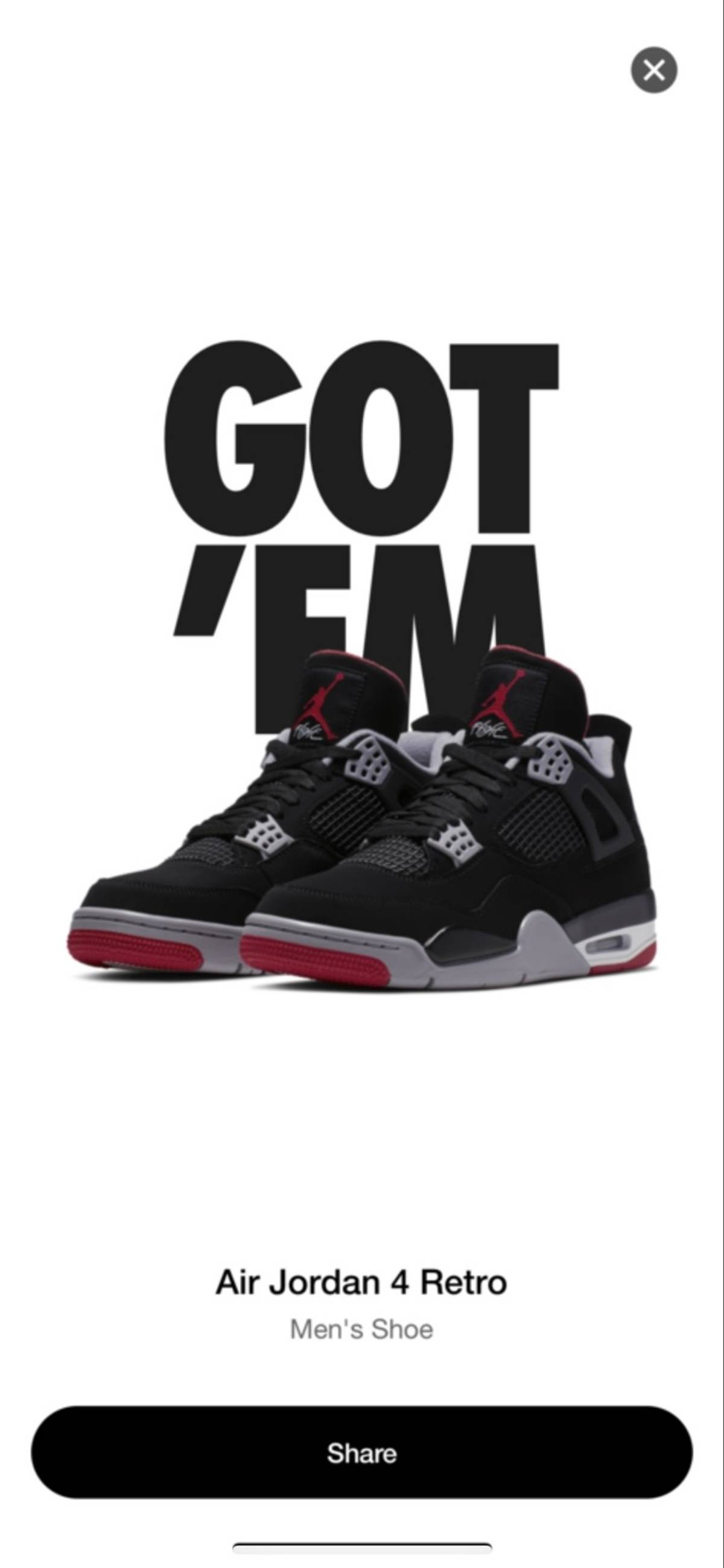 9147f2669131e5 Jordan Brand Air Jordan 4 Retro Black Cement Bred 2019 Black Red ...