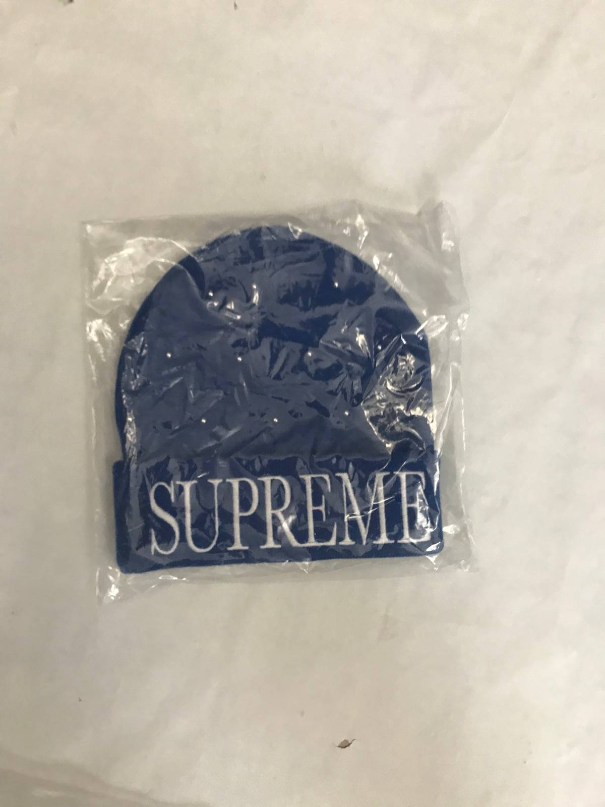 5e535d966 Supreme Supreme Royal Blue Studded Beanie Size One Size $51
