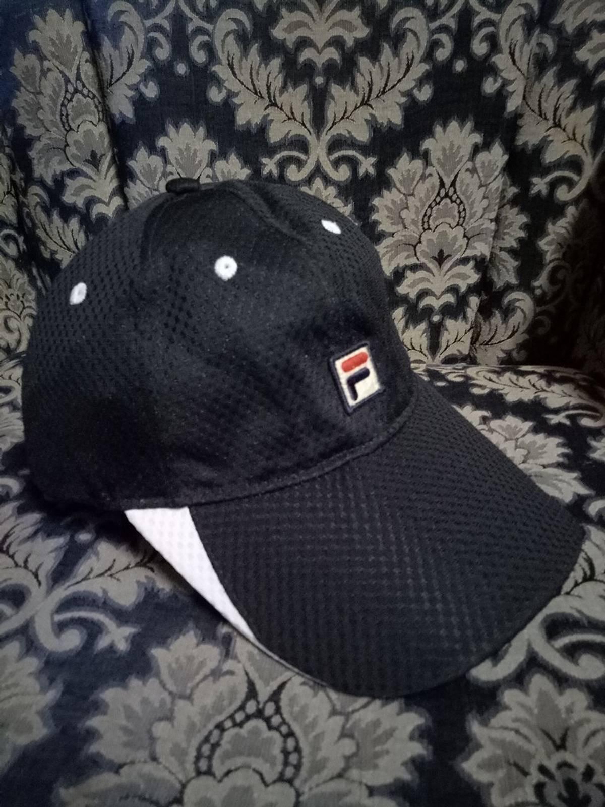 81f539ef293 Fila Authentic Fila Cap Classic Rare Adjustable Urban Casual Hip Hop Rap  Streetwear Hat Cap
